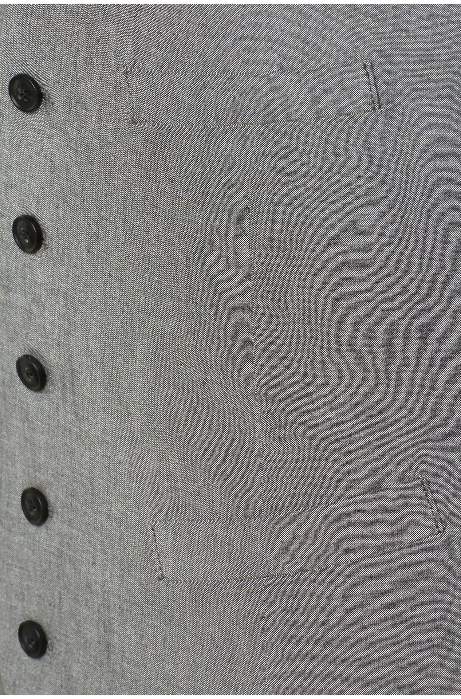 Gilet Slim Fit en coton extensible: «Bacer_BS-W»