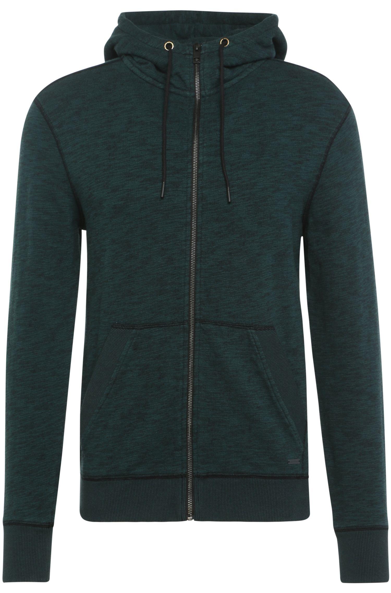 Sweatshirt-Jacke aus Baumwolle mit Kapuze: ´Ztarta`