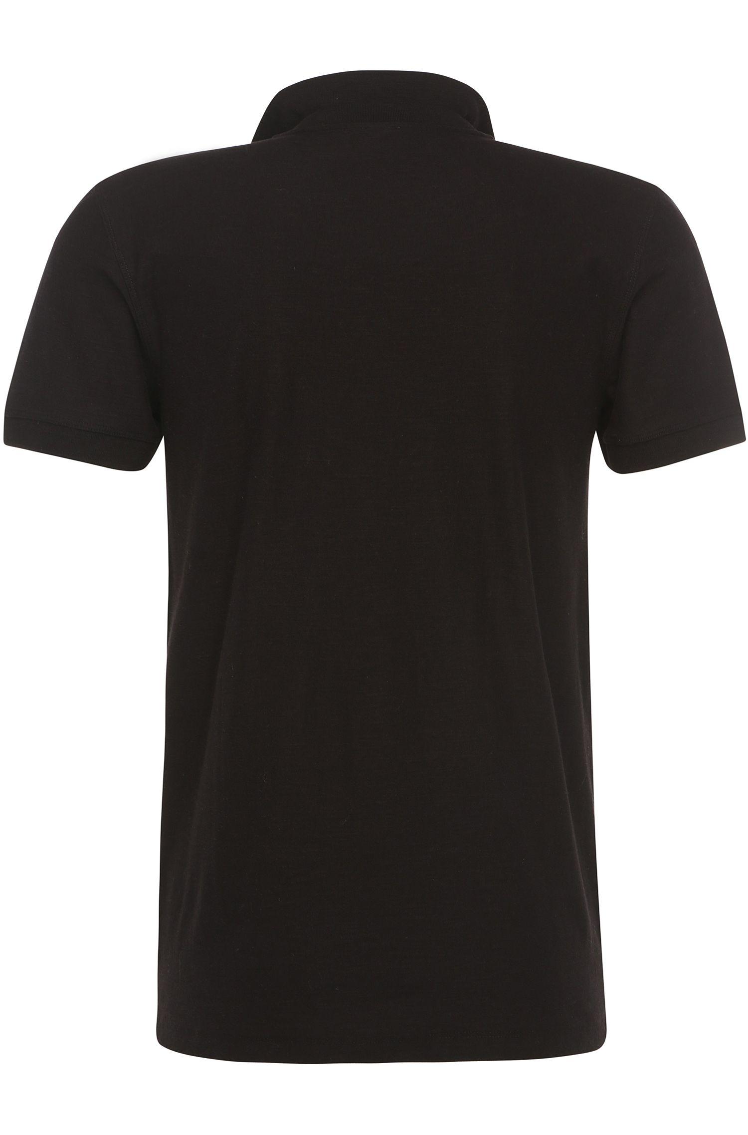 Schmales Poloshirt aus Baumwolljersey: ´Powers`