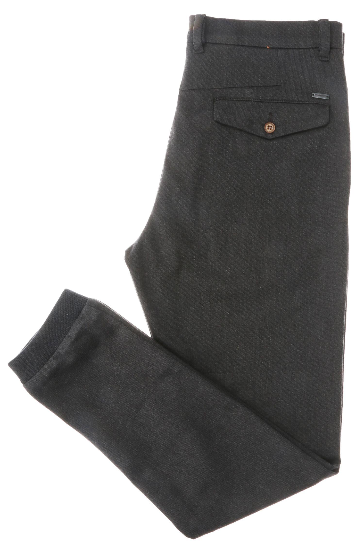 Tapered-Fit Hose aus Baumwolle mit Elasthan: ´Siman1-W`