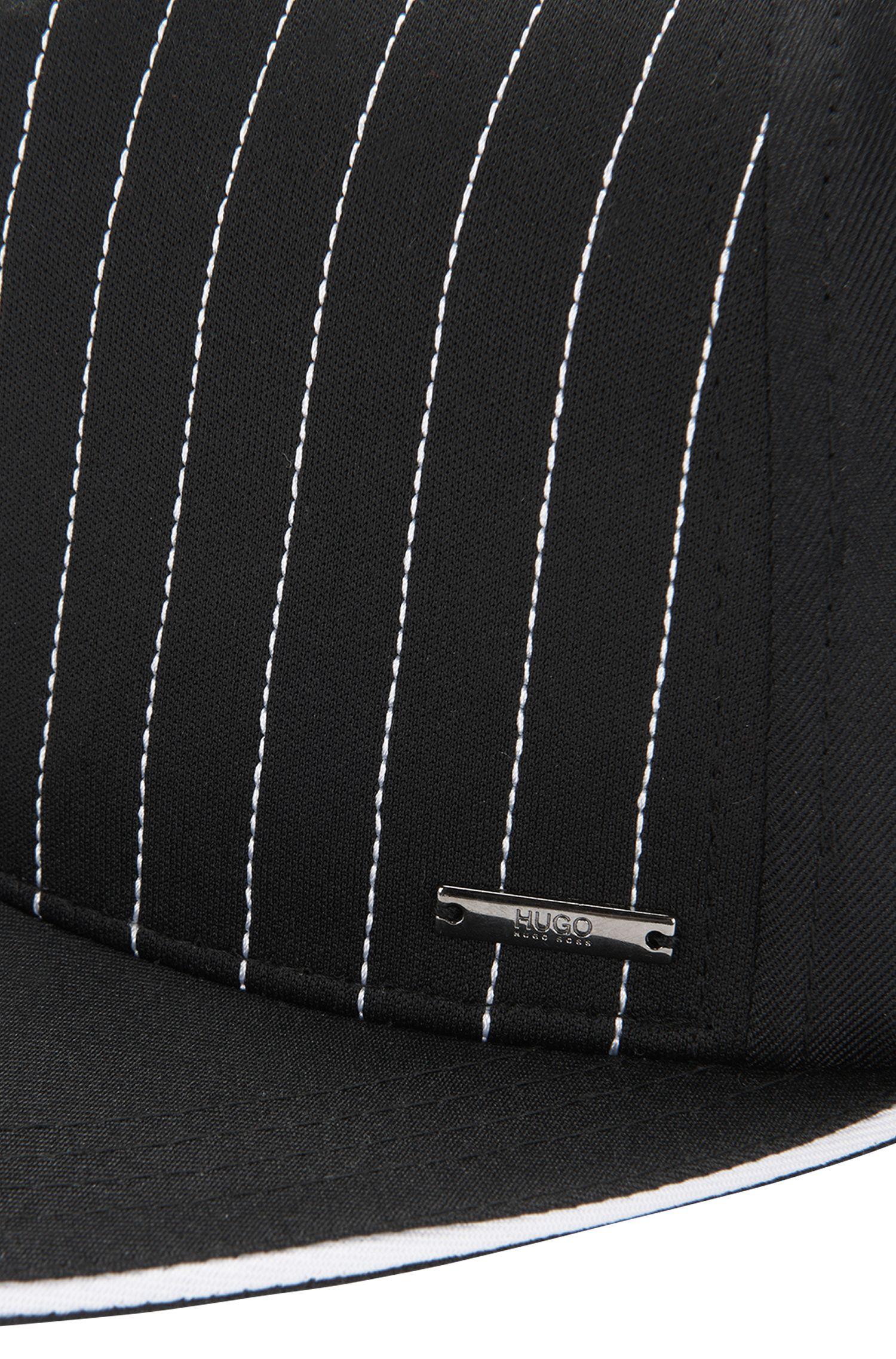 Cap aus Gewebe mit Streifen: 'Men-x 526'
