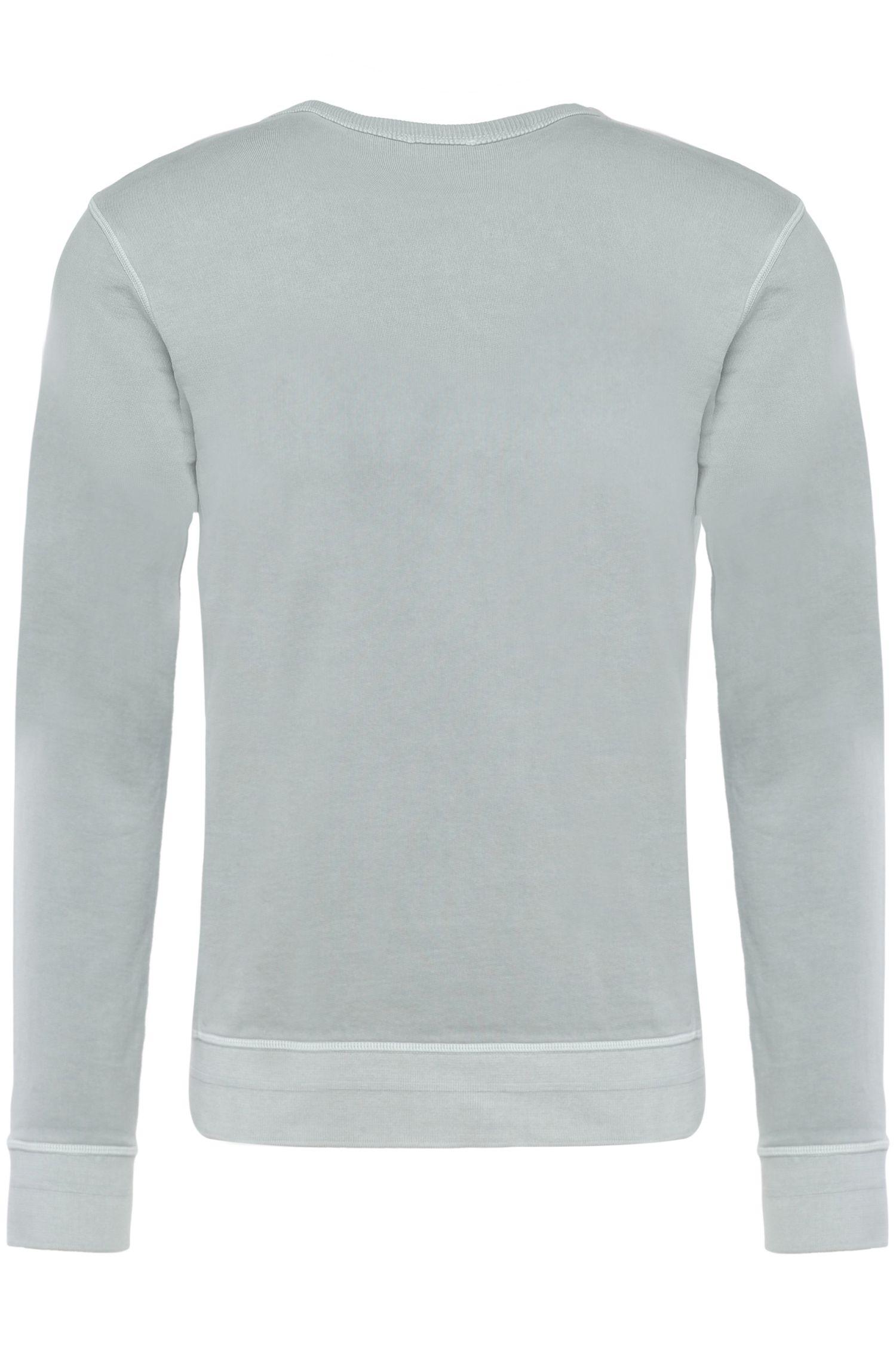 Baumwoll-Sweater im Maschen-Mix: ´Wheelo`