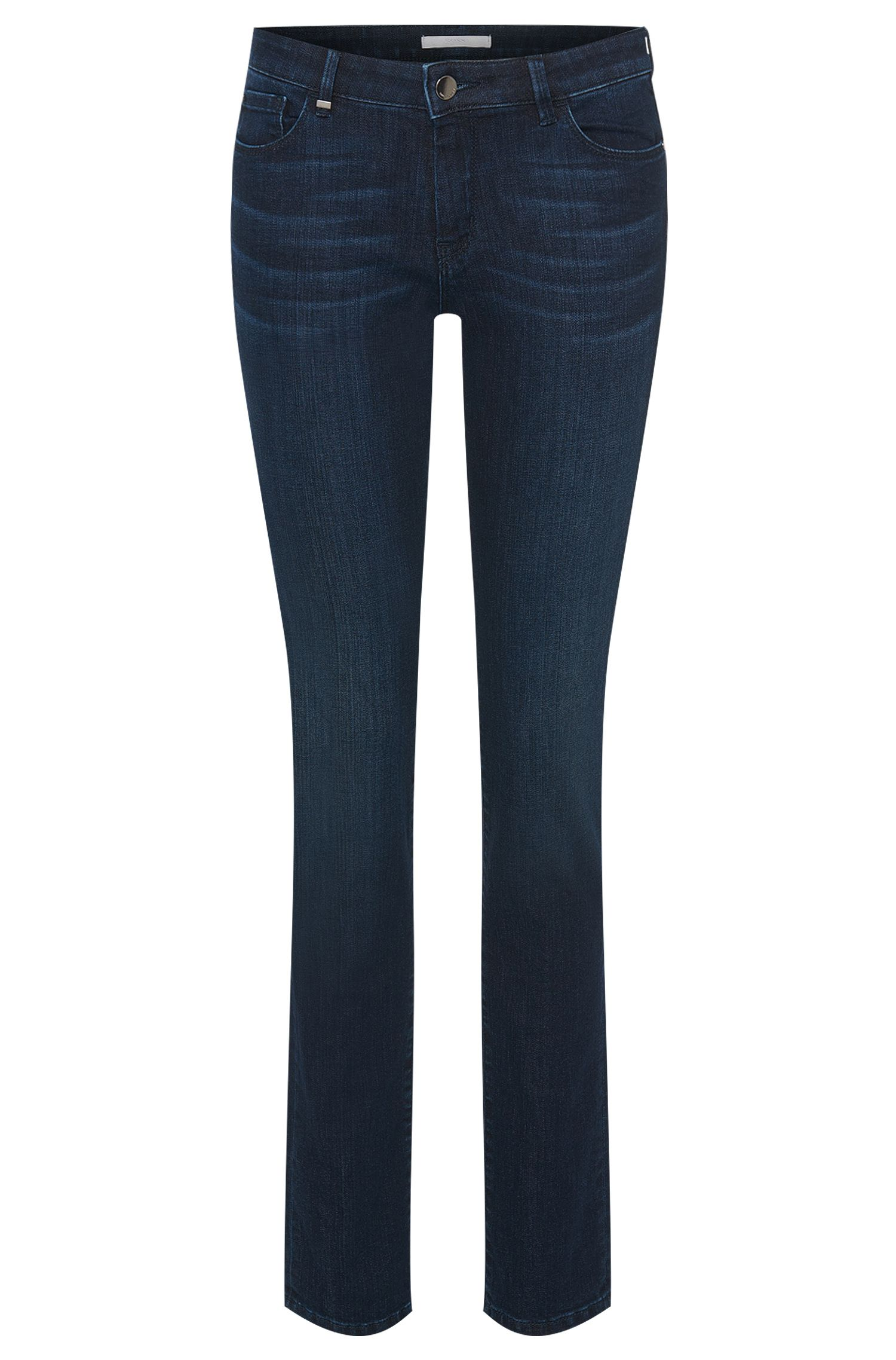 Jeans regular fit in misto cotone elasticizzato: 'Nevila MOON'