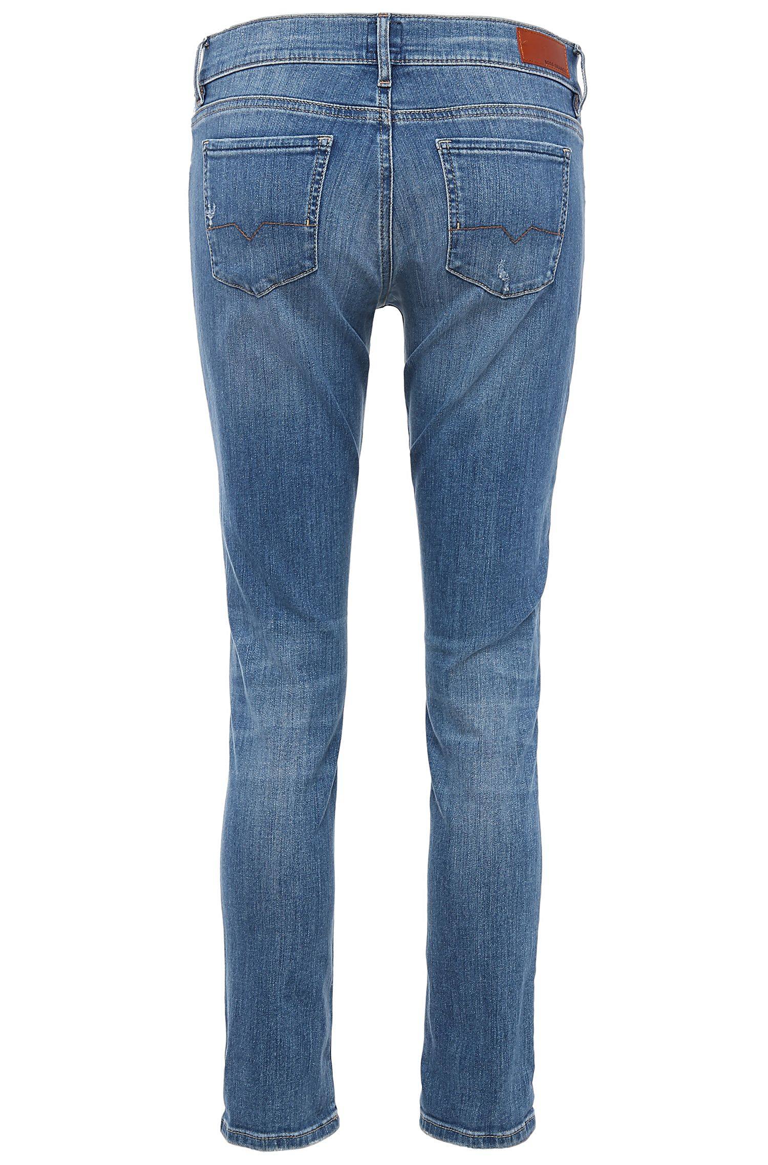 Jeans Comfort Fit en coton extensible : « Orange J31 Miami »