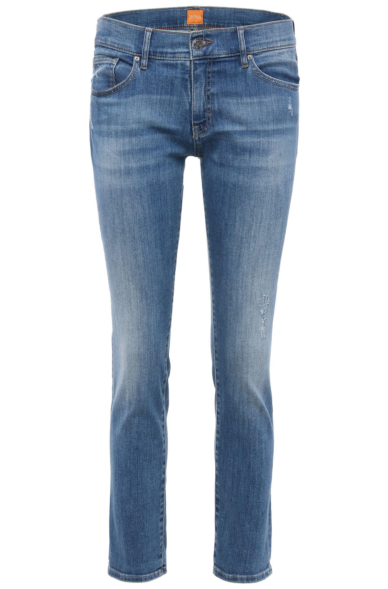 Jeans Comfort Fit en coton extensible: «Orange J31 Miami»