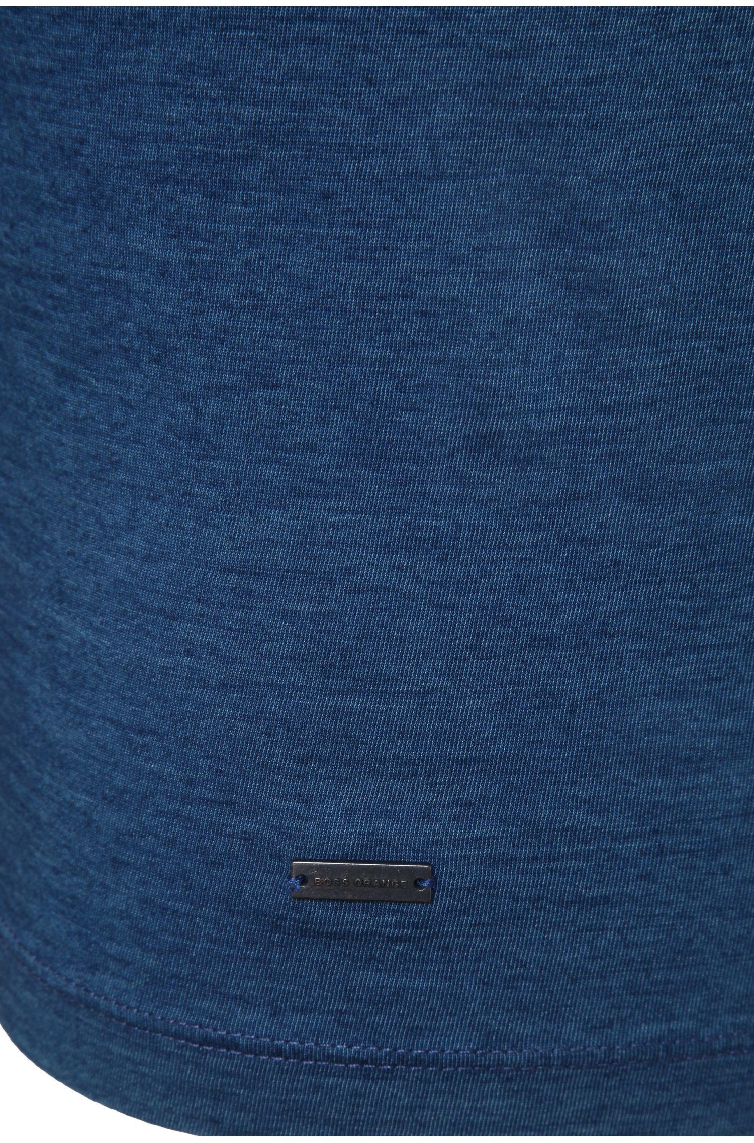 T-shirt Regular Fit bicolore en coton: «Traveler»