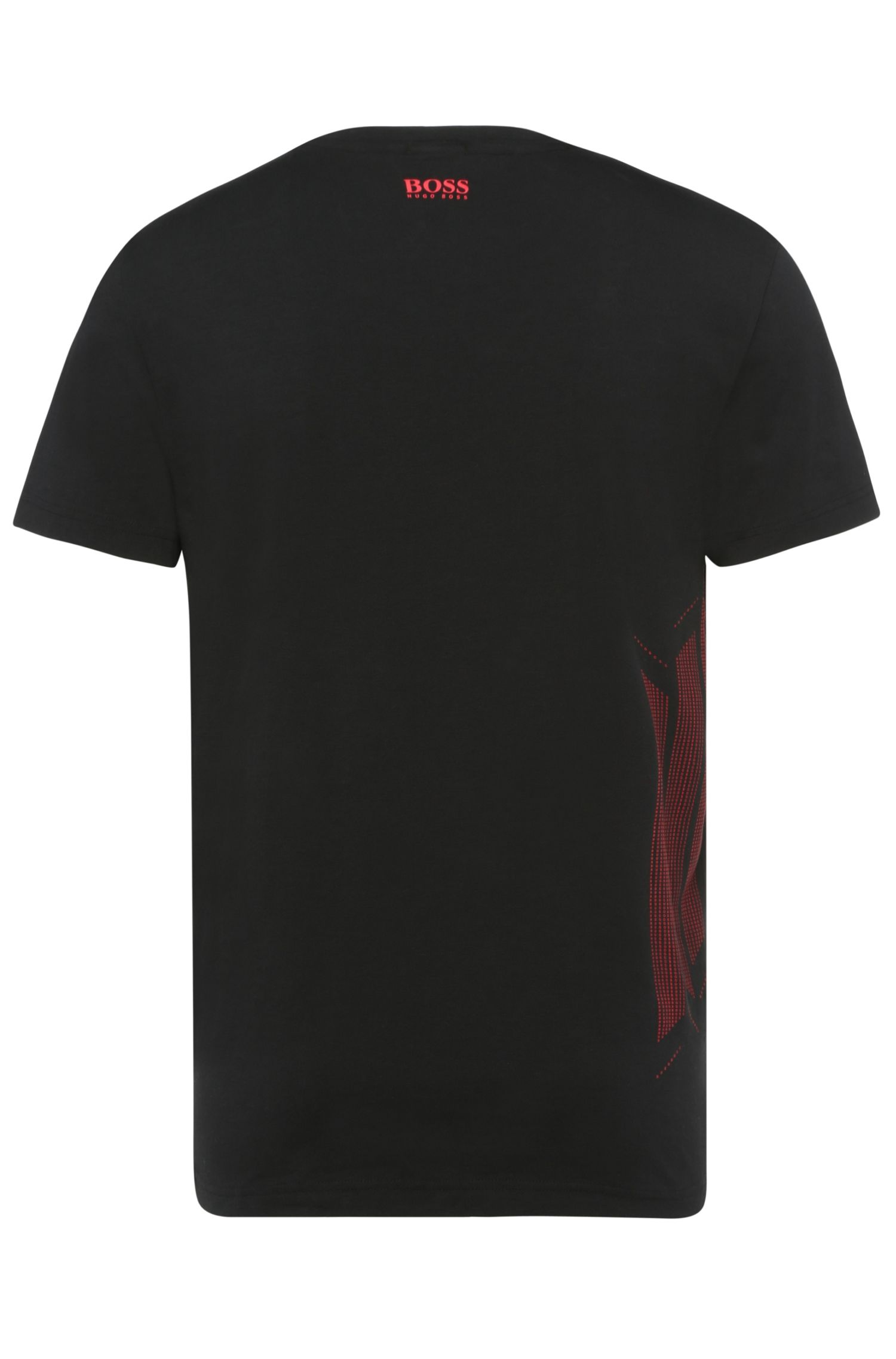 T-shirt en coton mélangé extensible: «Tianox1»