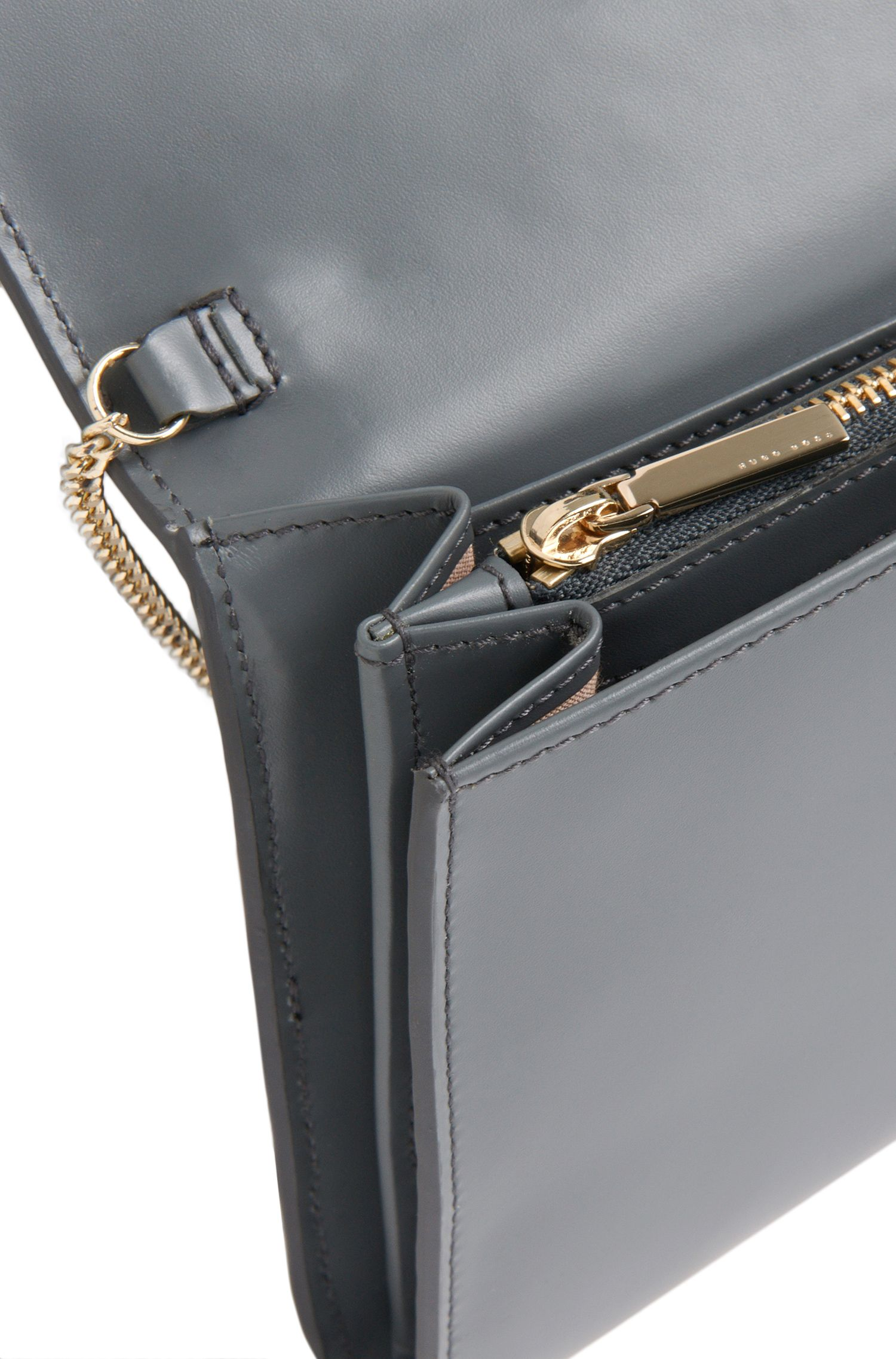 Leder-Clutch mit Schleifen-Detail: 'Bow Mini Bag'