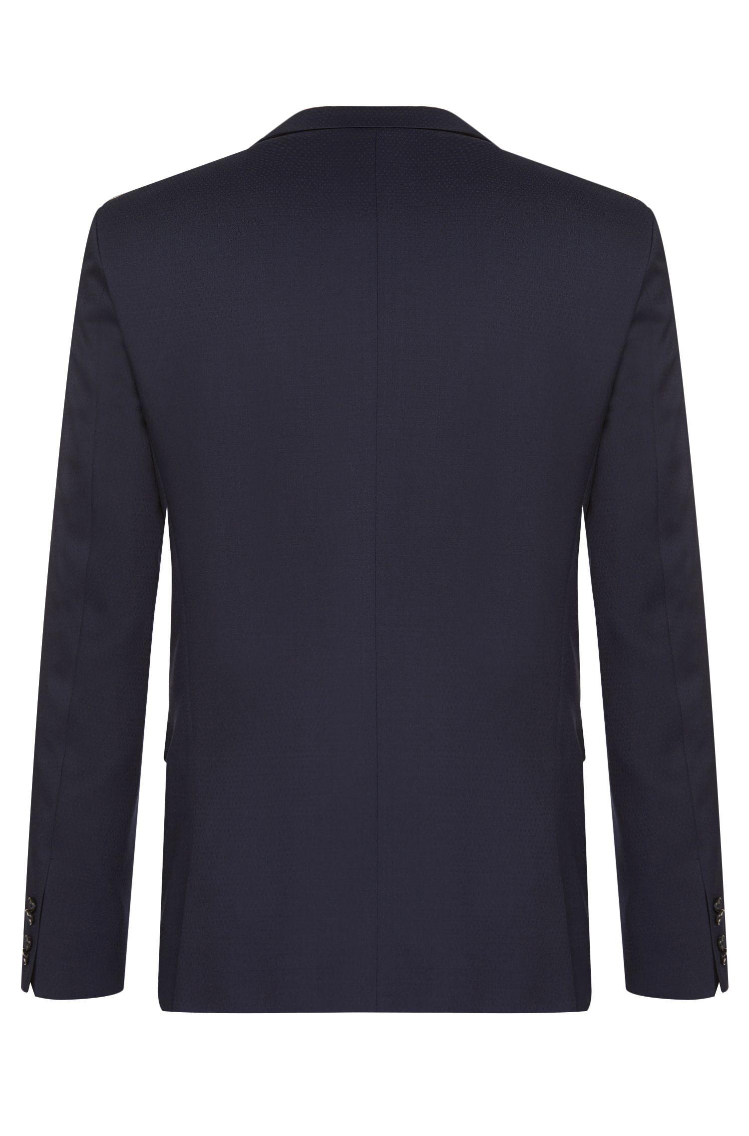 Extra Slim-Fit Anzug aus Schurwolle: 'Adris4/Heibo3'
