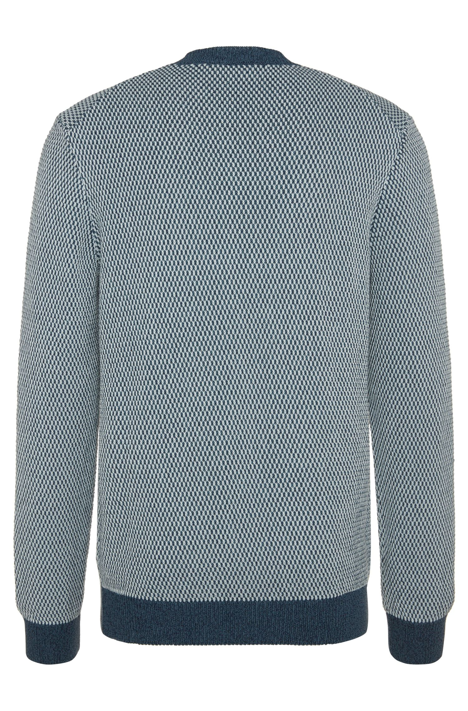 Regular-Fit Pullover aus Baumwolle mit Rundhalsausschnitt: 'Heldo'