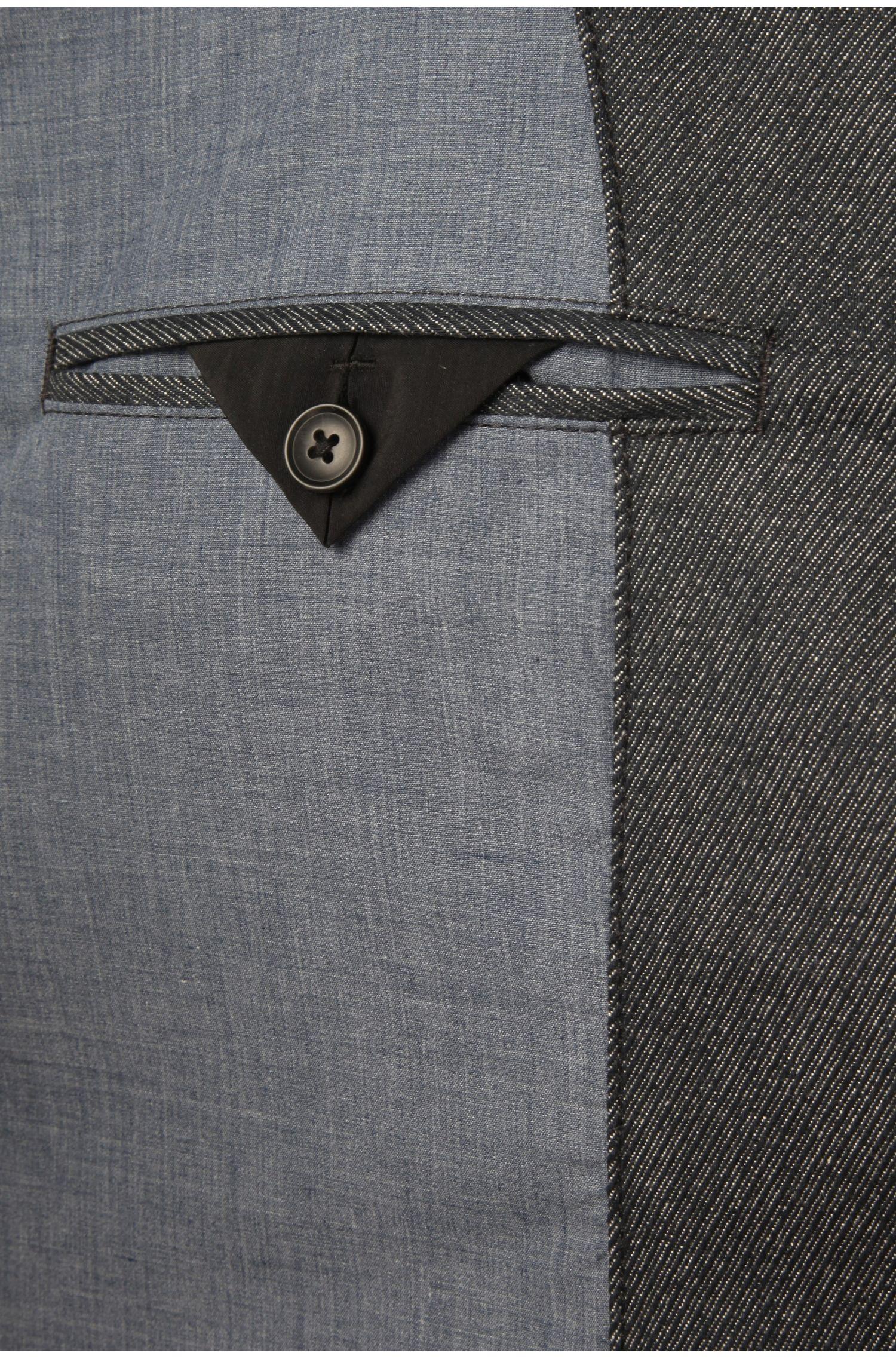 Korte mantel van elastisch katoen: 'Benim-W'