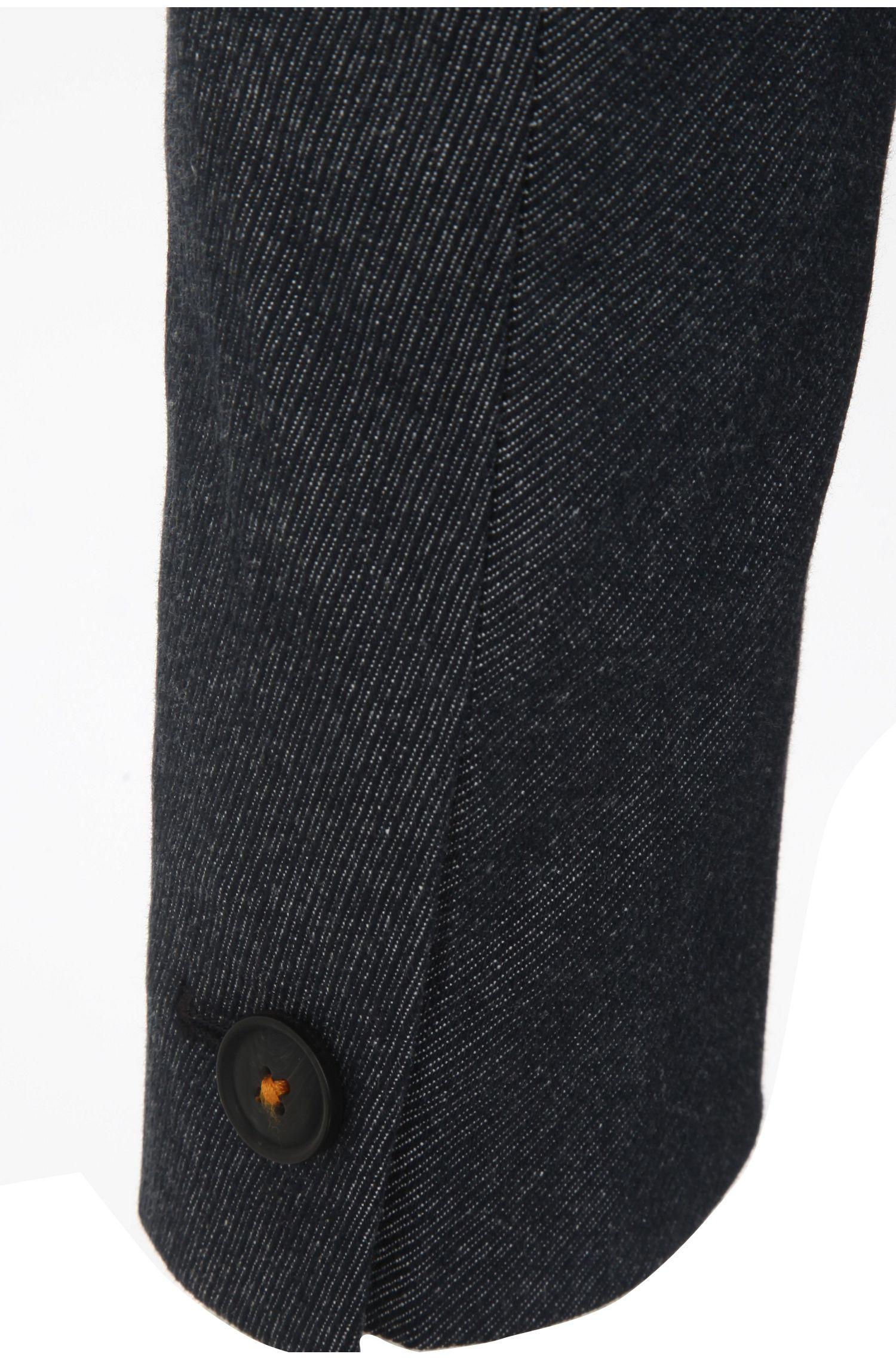 Manteau court en coton extensible: «Benim-W»