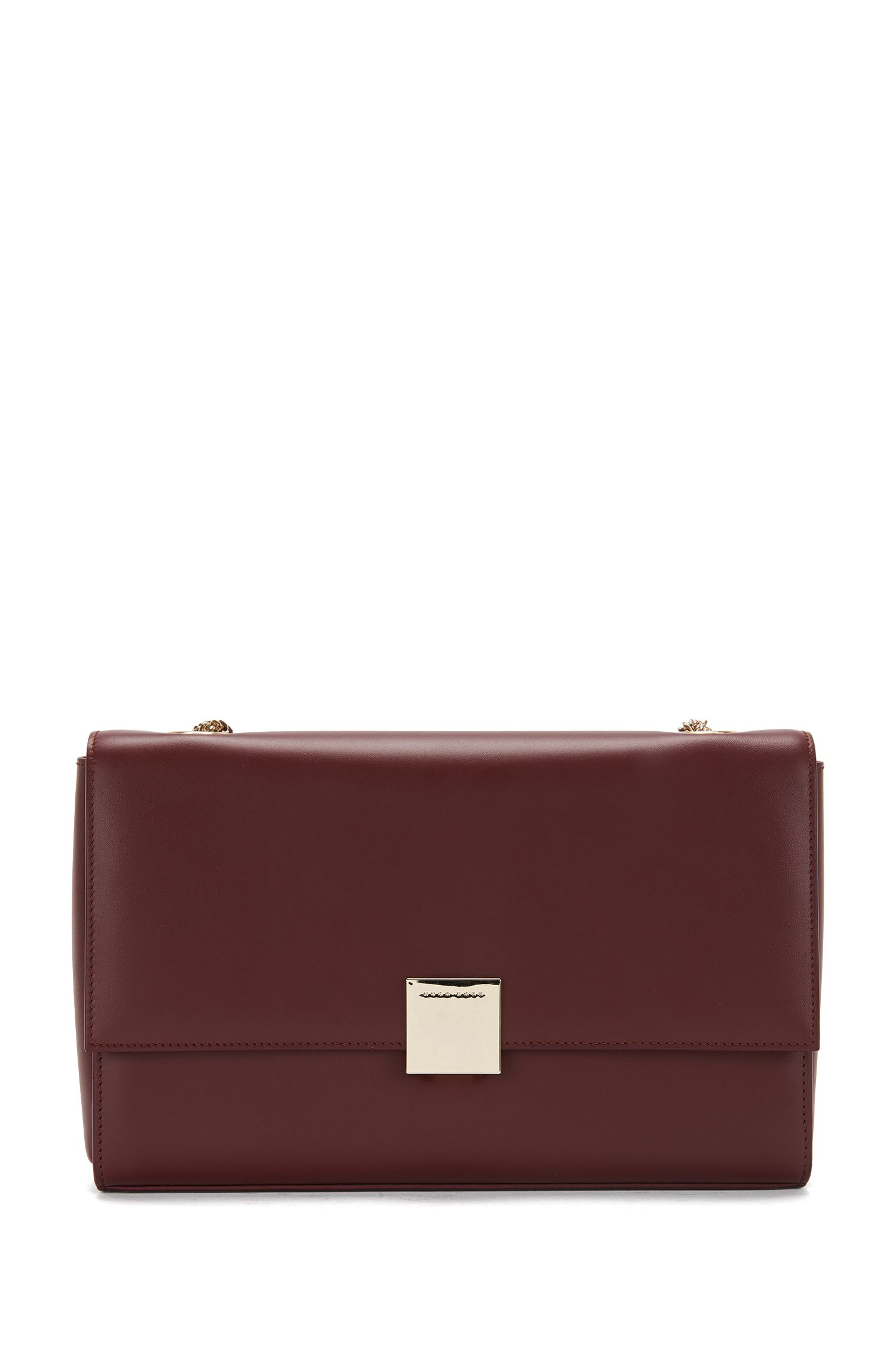 Leather clutch bag: 'Munich Flap'