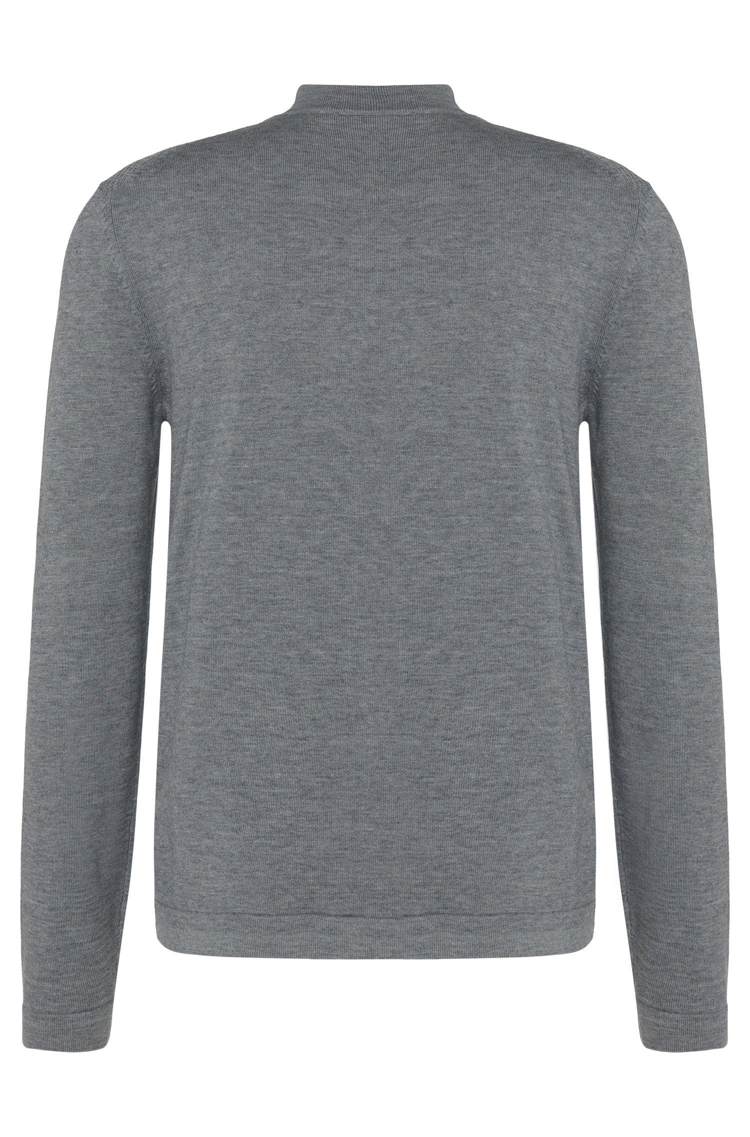 Regular-Fit Pullover aus Baumwoll-Mix mit kurzem Stehkragen: 'Henderson'