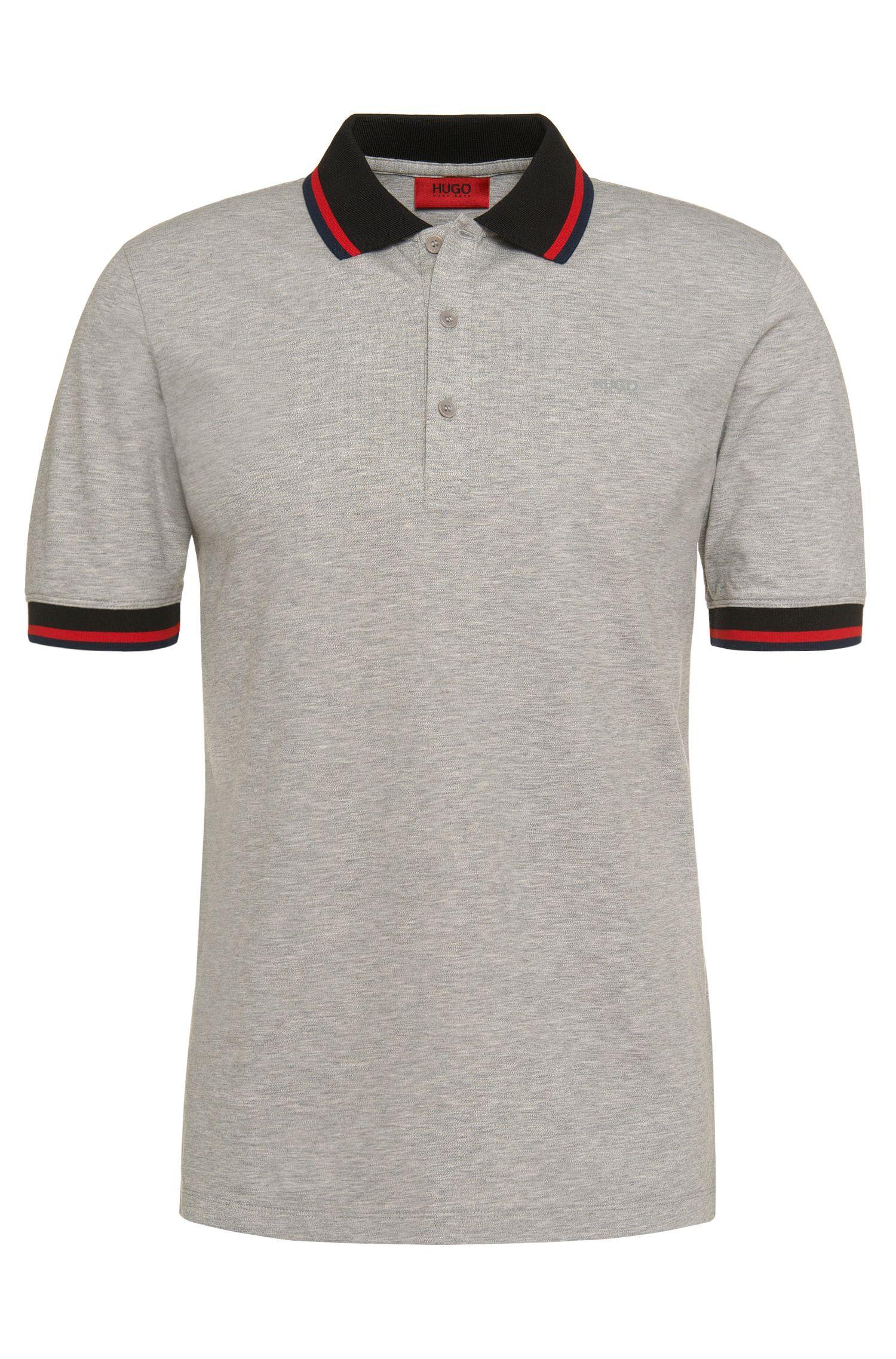 Polo Regular Fit en coton stretch: «Darese»