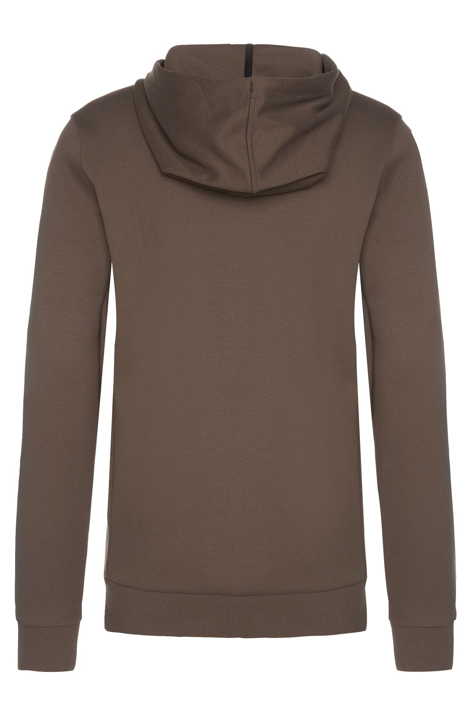 Regular-Fit Sweatshirt-Jacke mit Kapuze: 'Dalermo'