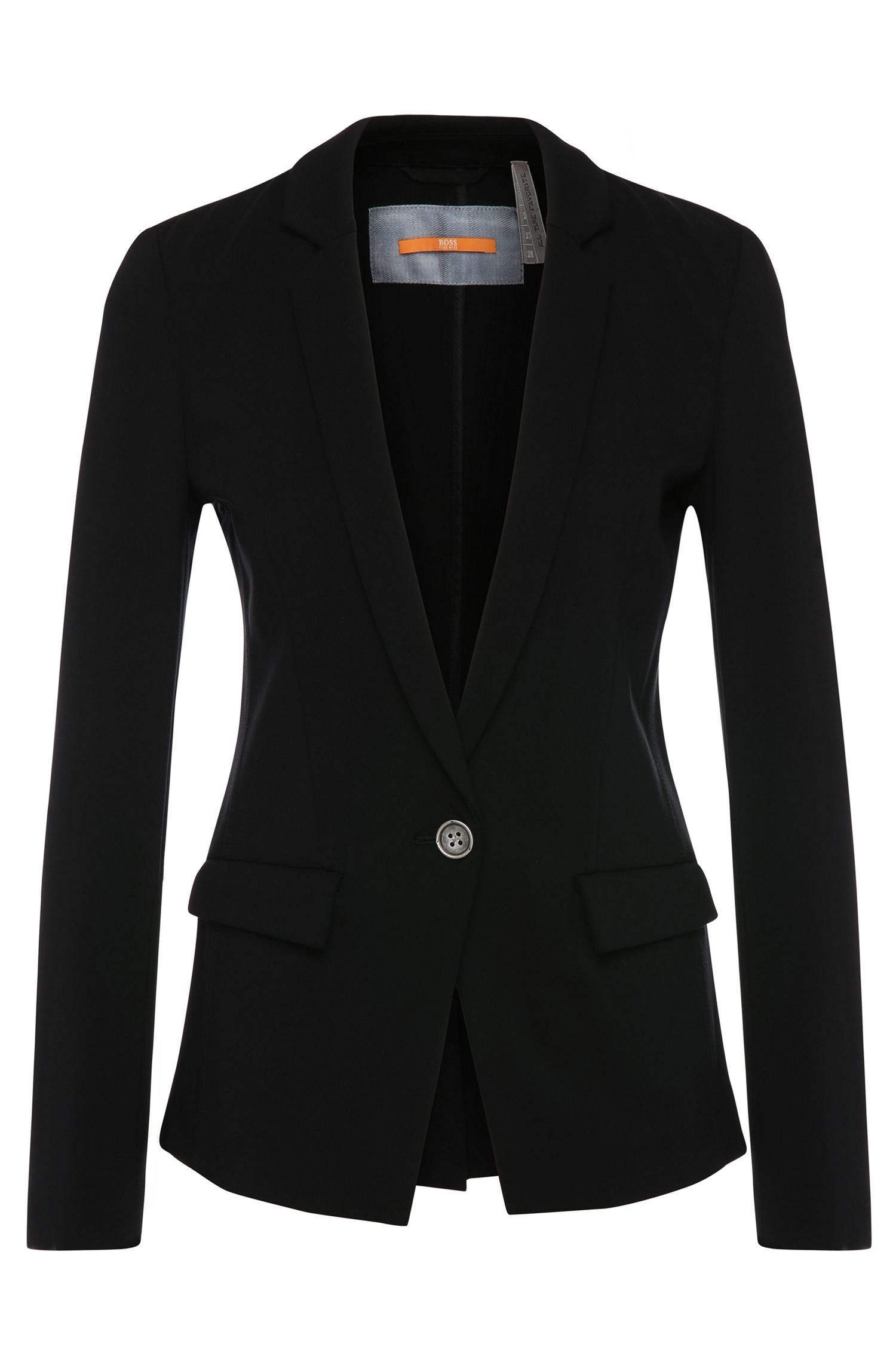 Blazer regular fit in misto viscosa elasticizzata: 'Ochini2'
