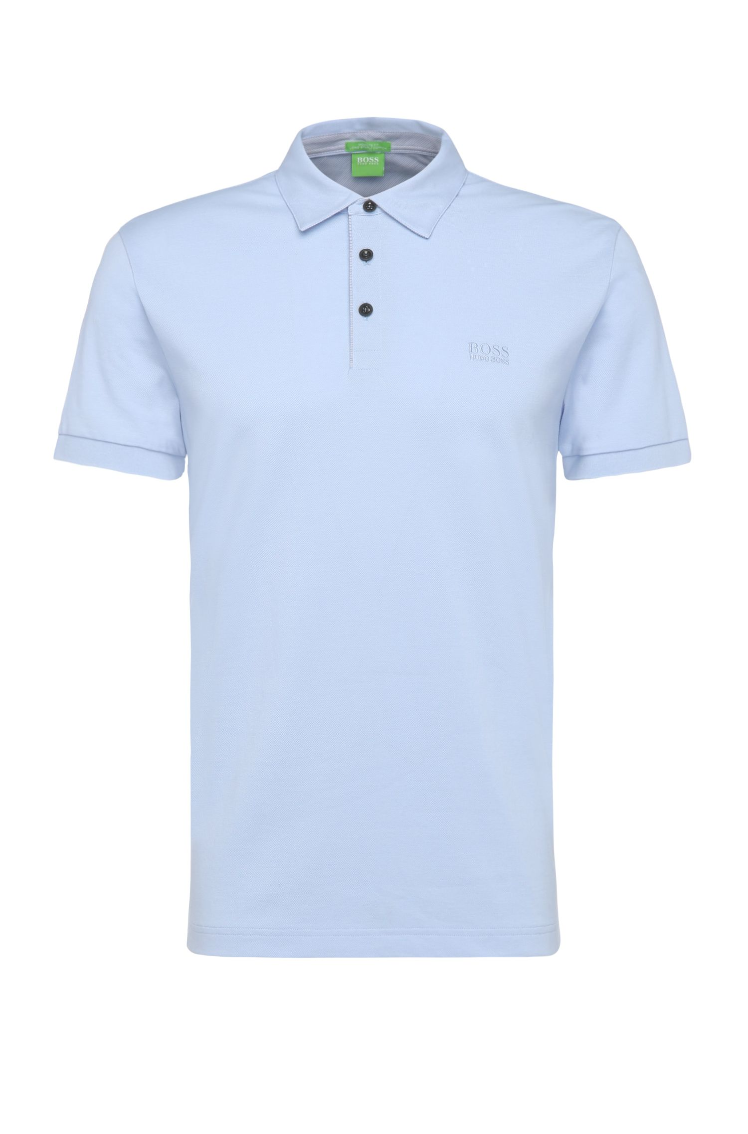 Polo Regular Fit en coton : « C-Firenze 1 »