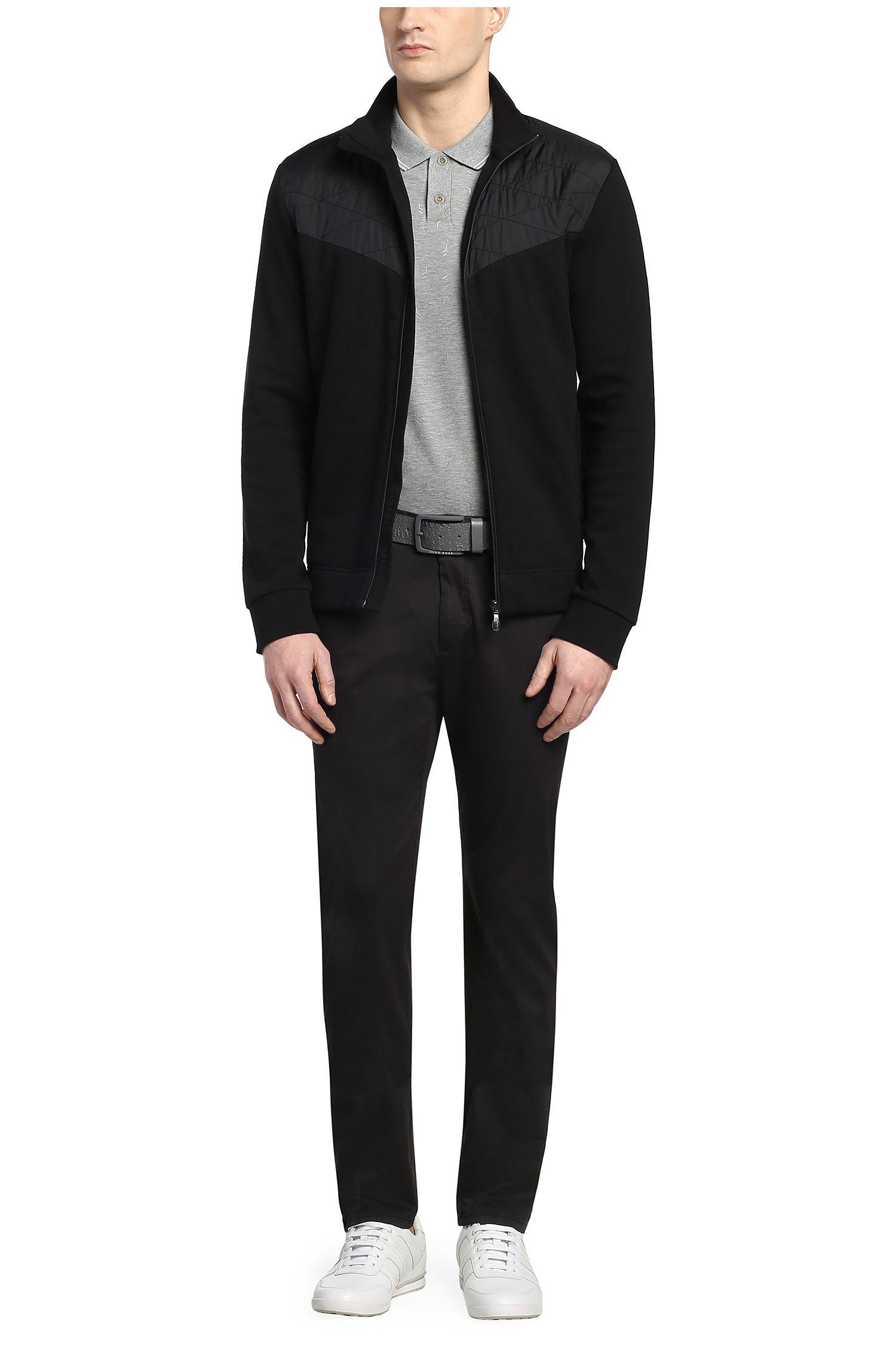 Regular-Fit Poloshirt aus elastischer Baumwolle: ´Paule 3`