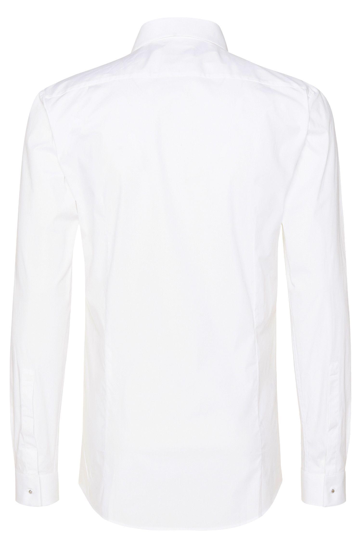 Slim-Fit Hemd aus Stretch-Baumwolle: 'Ewyn'