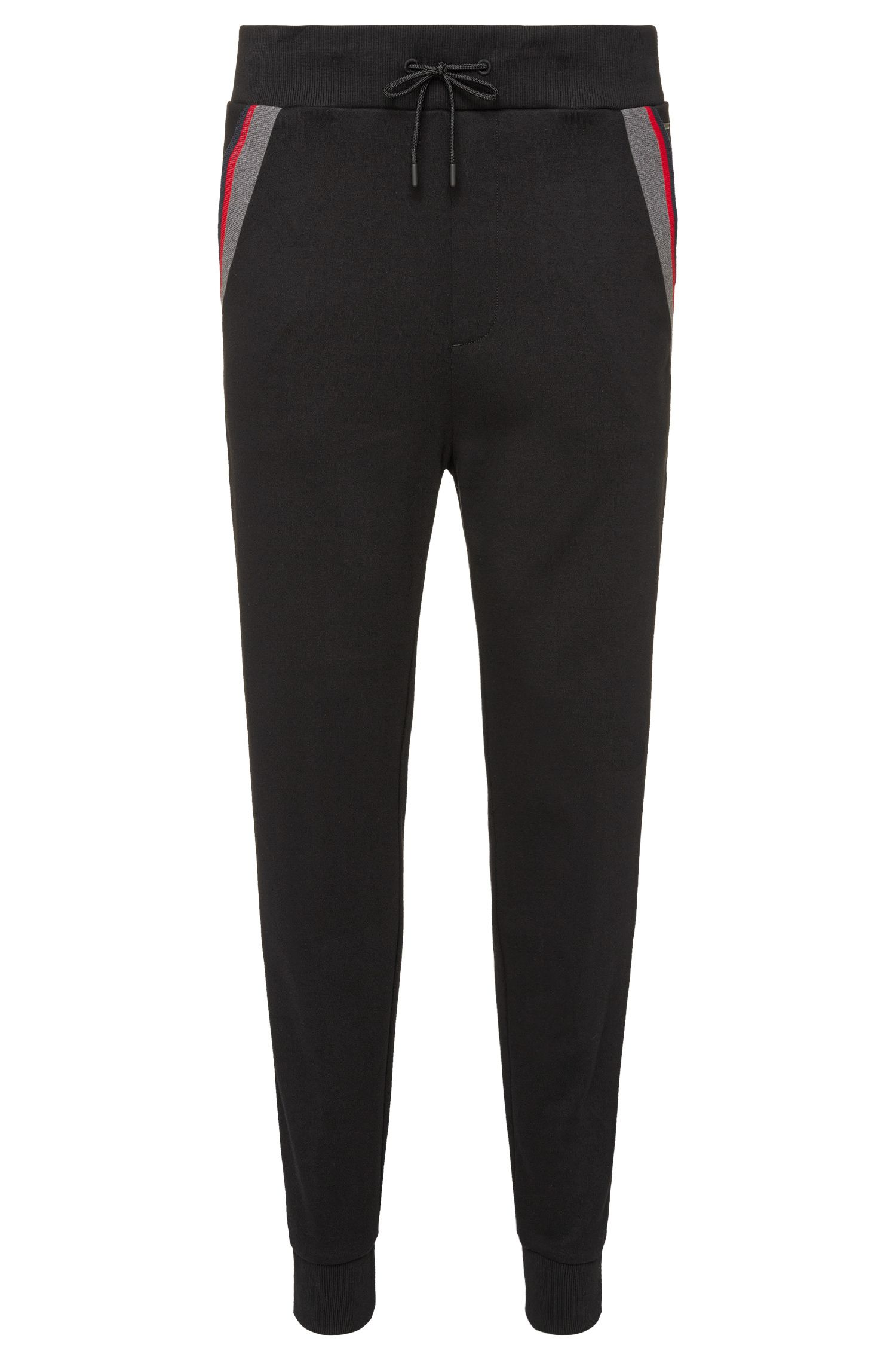 Pantalon sweat en coton Regular Fit : « Deramo »