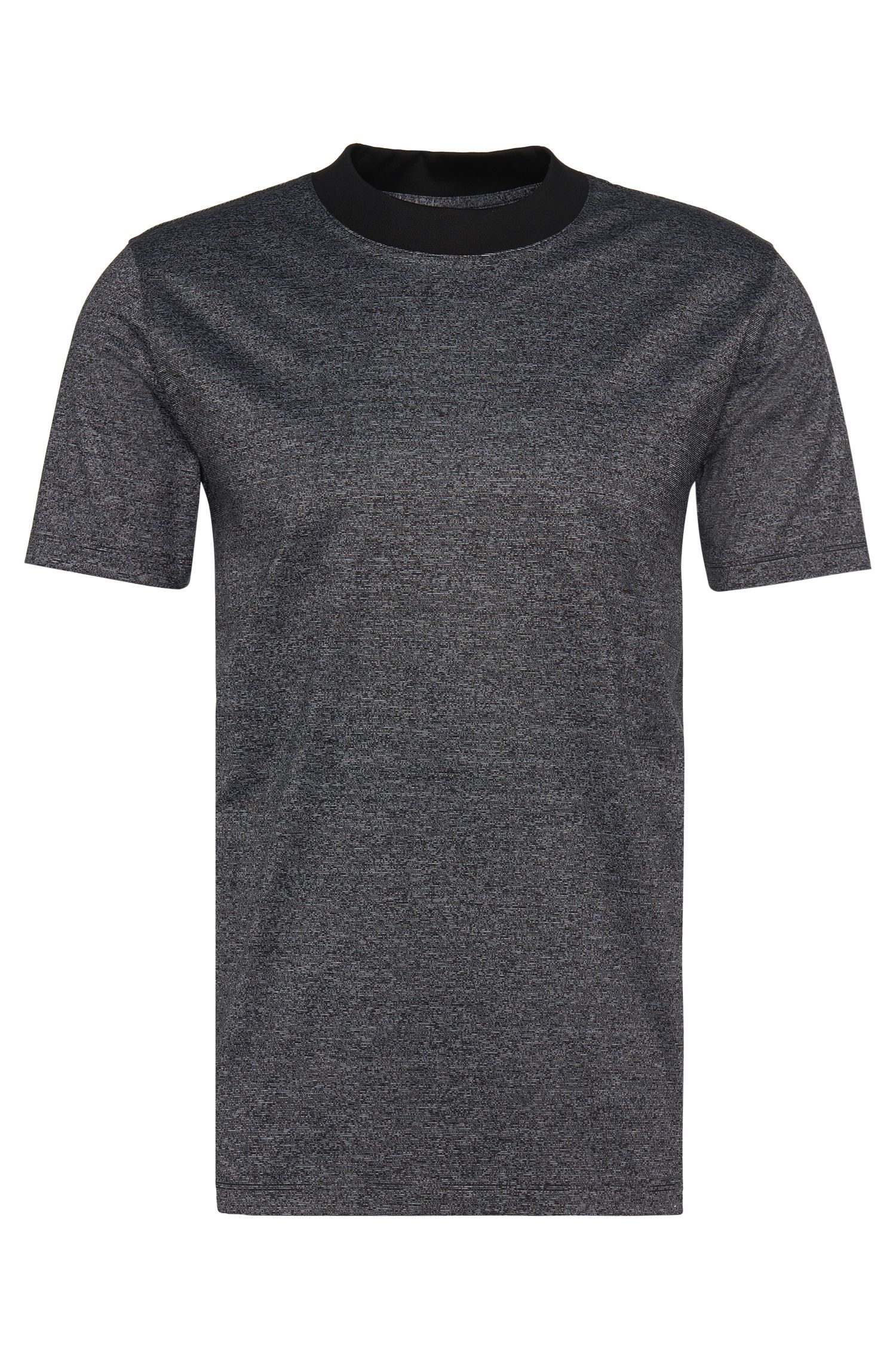Loose-Fit T-Shirt aus Baumwolle mit Rundhalsausschnitt: 'Dorenz'