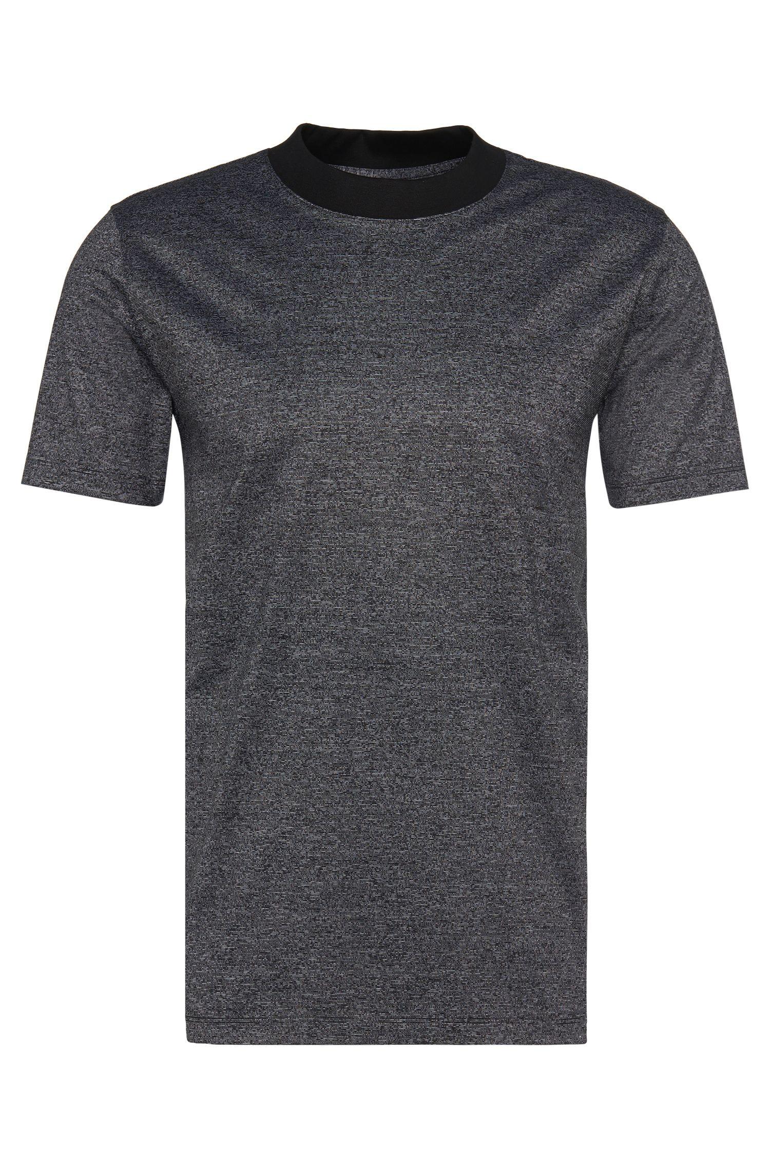 Loose-fit t-shirt in cotton with a round neckline: 'Dorenz'
