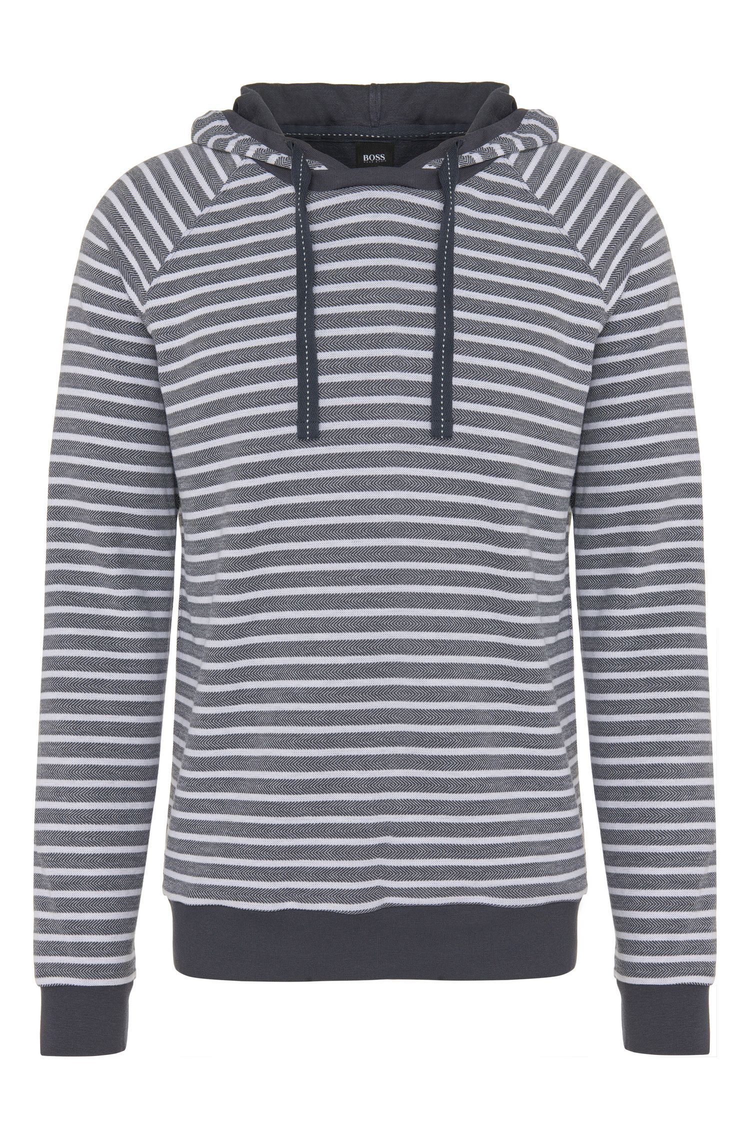Kapuzen-Sweatshirt aus Baumwoll-Mix: 'Hooded Sweatshirt'