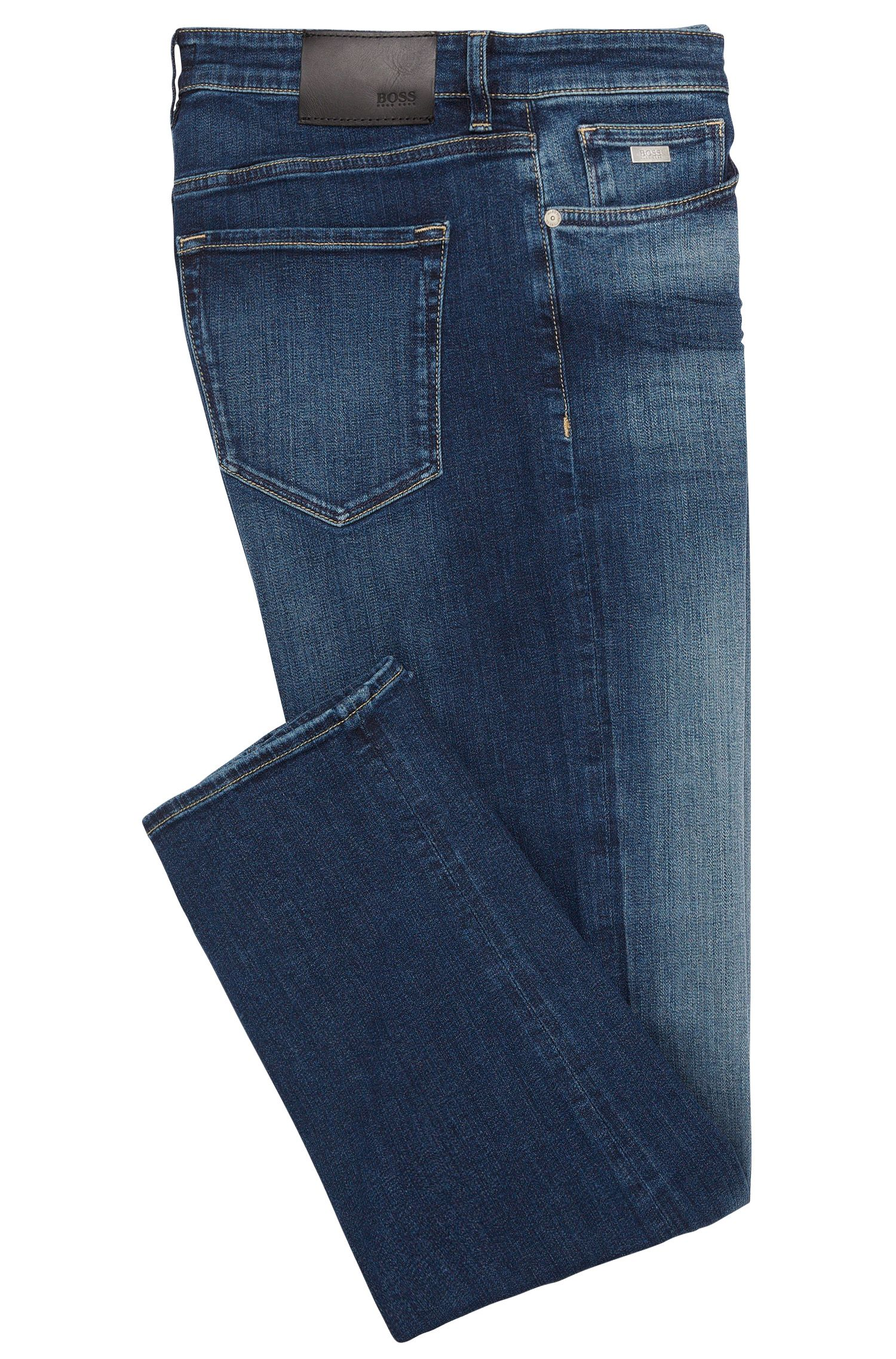 Jeans Regular Fit en coton stretch : « Maine3 »