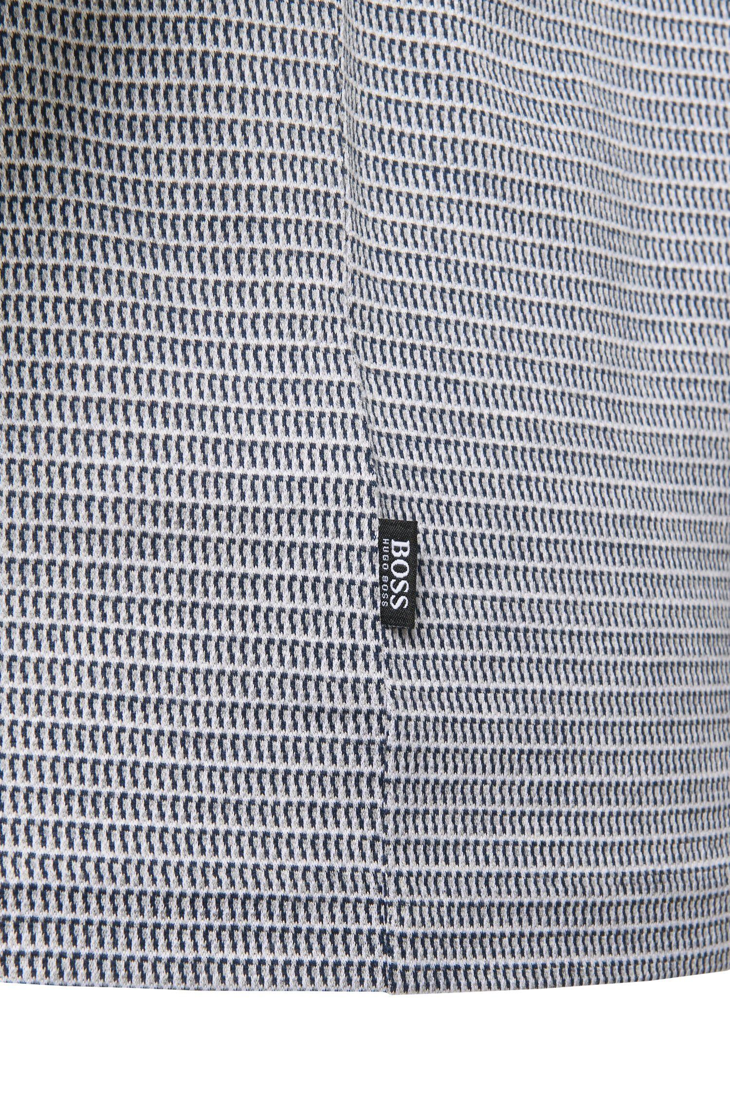 Slim-Fit Poloshirt aus merzerisierter Baumwolle: 'Pitton 04'
