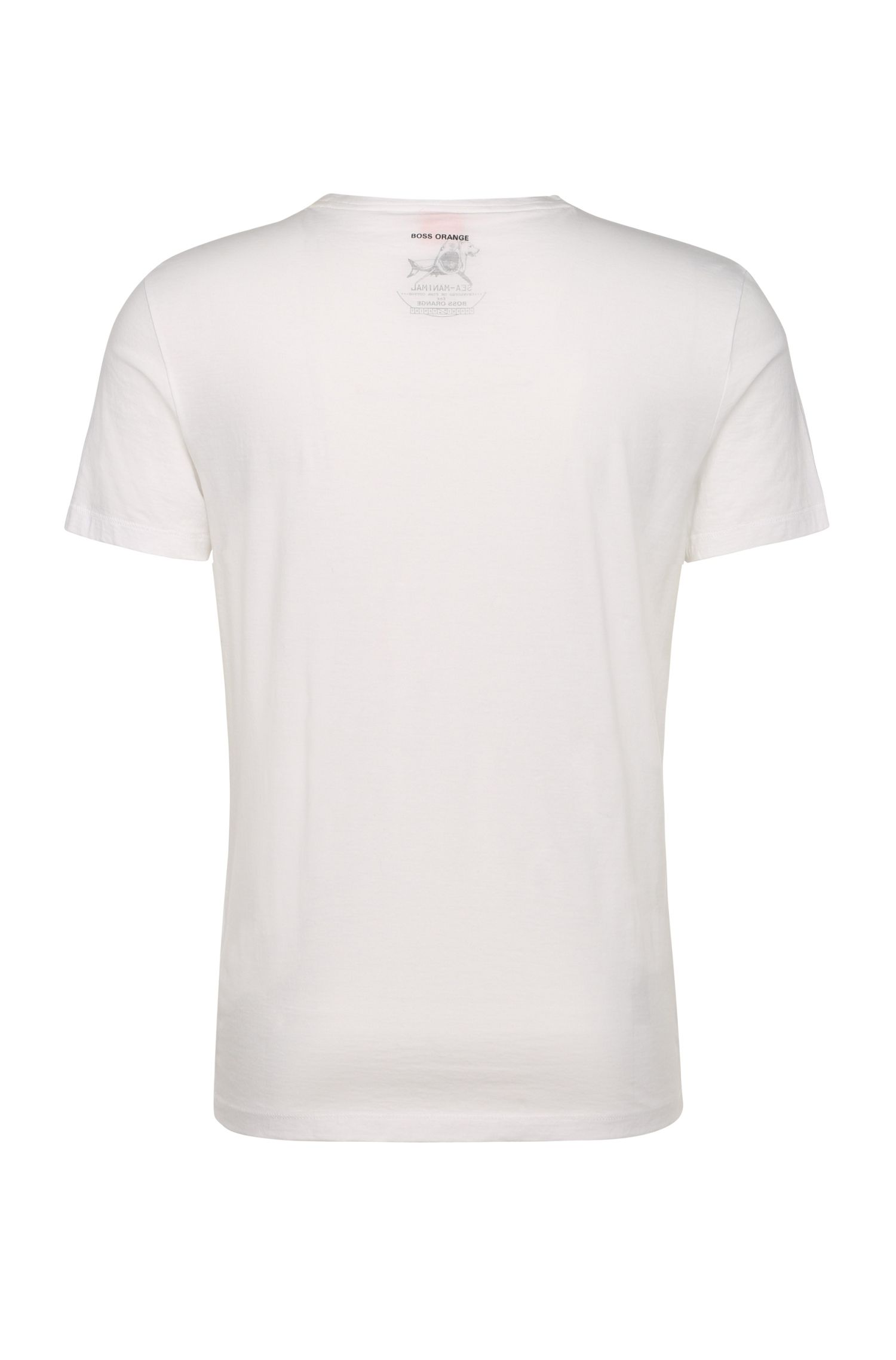 Print-Shirt aus Pima-Baumwolle: ´Treyno 1`