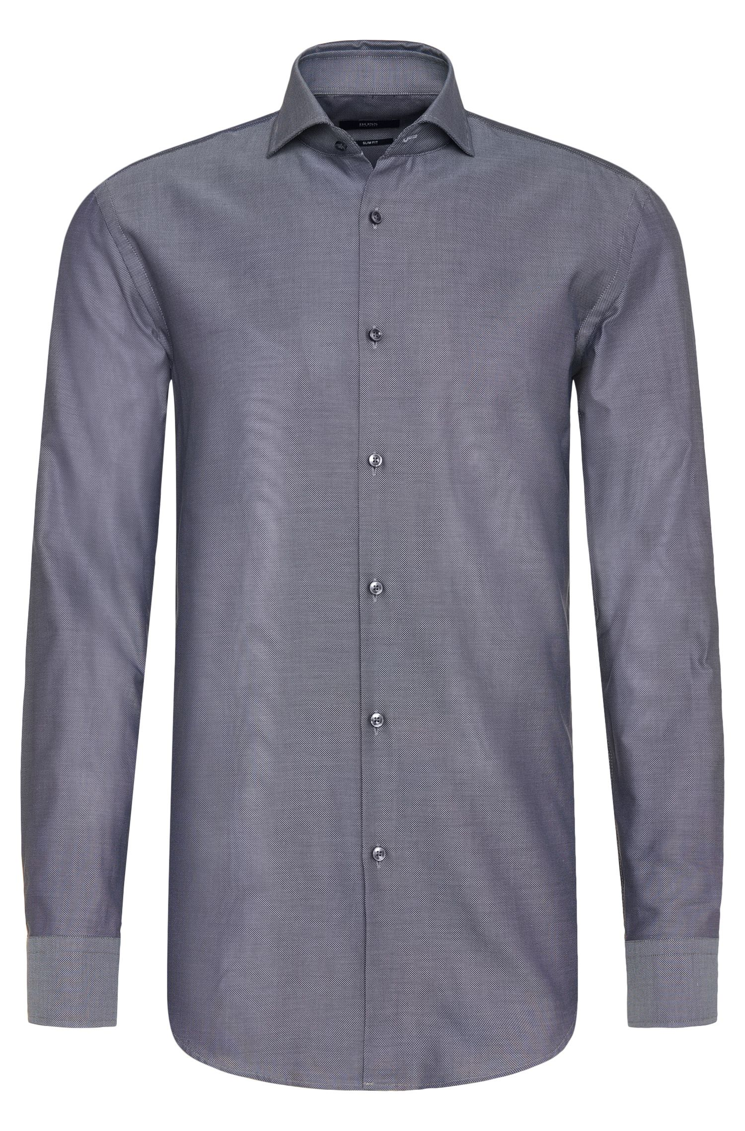 Chemise Slim Fit en pur coton : « Jason »