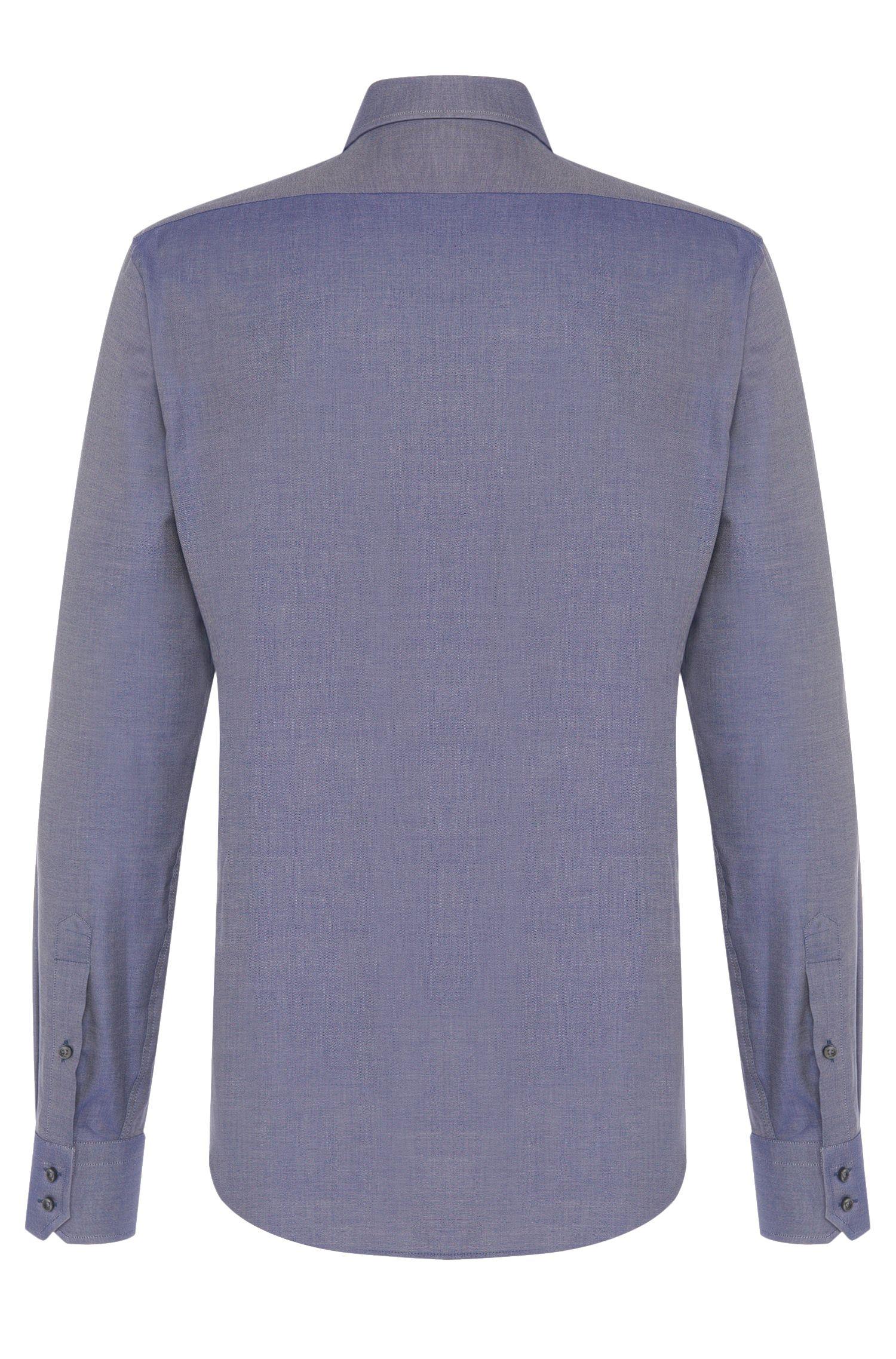 Regular-Fit Hemd aus Baumwolle mit französischen Sportmanschetten: 'Gordon'