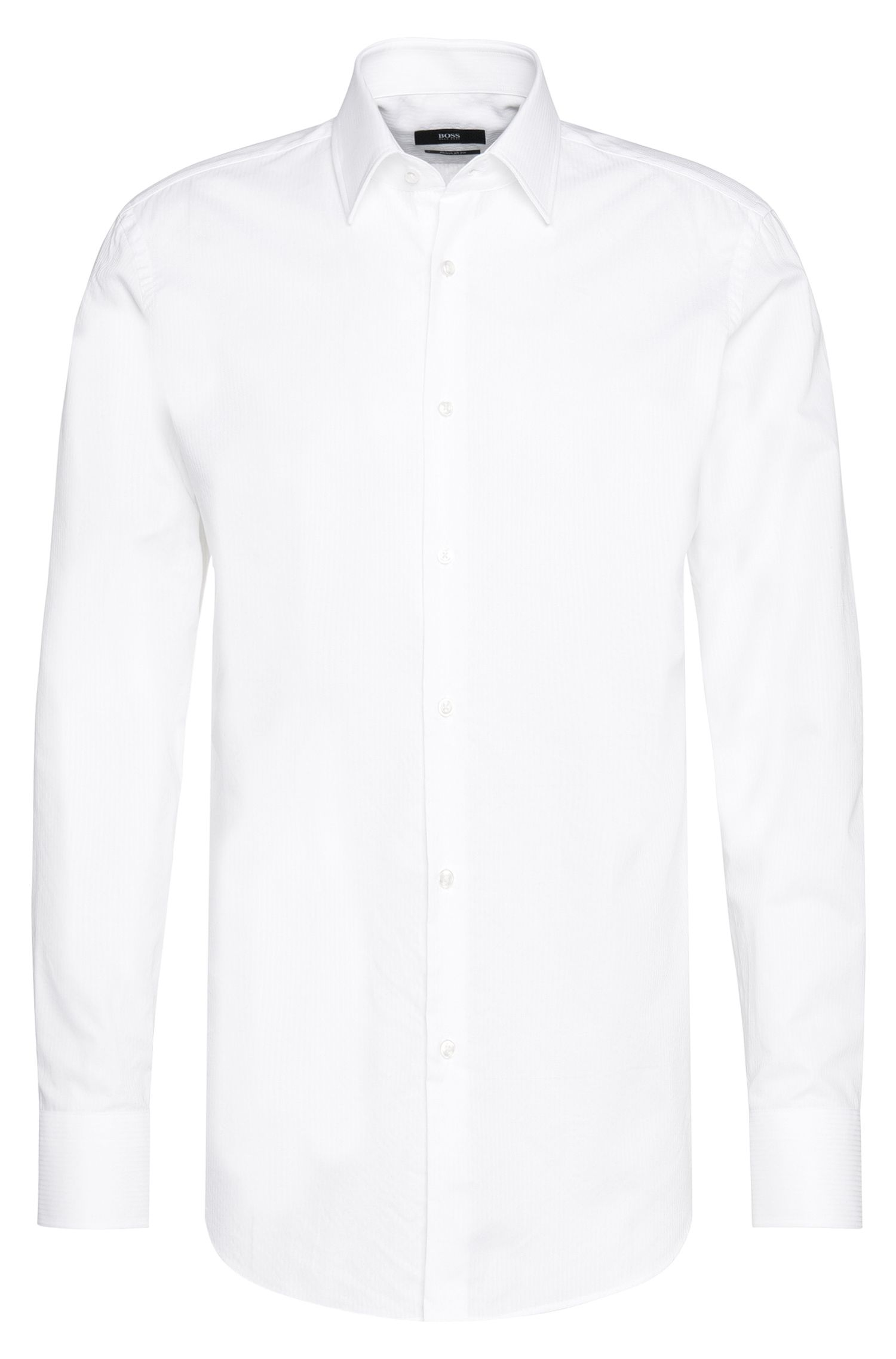 Chemise Regular Fit en coton : « Enzo »