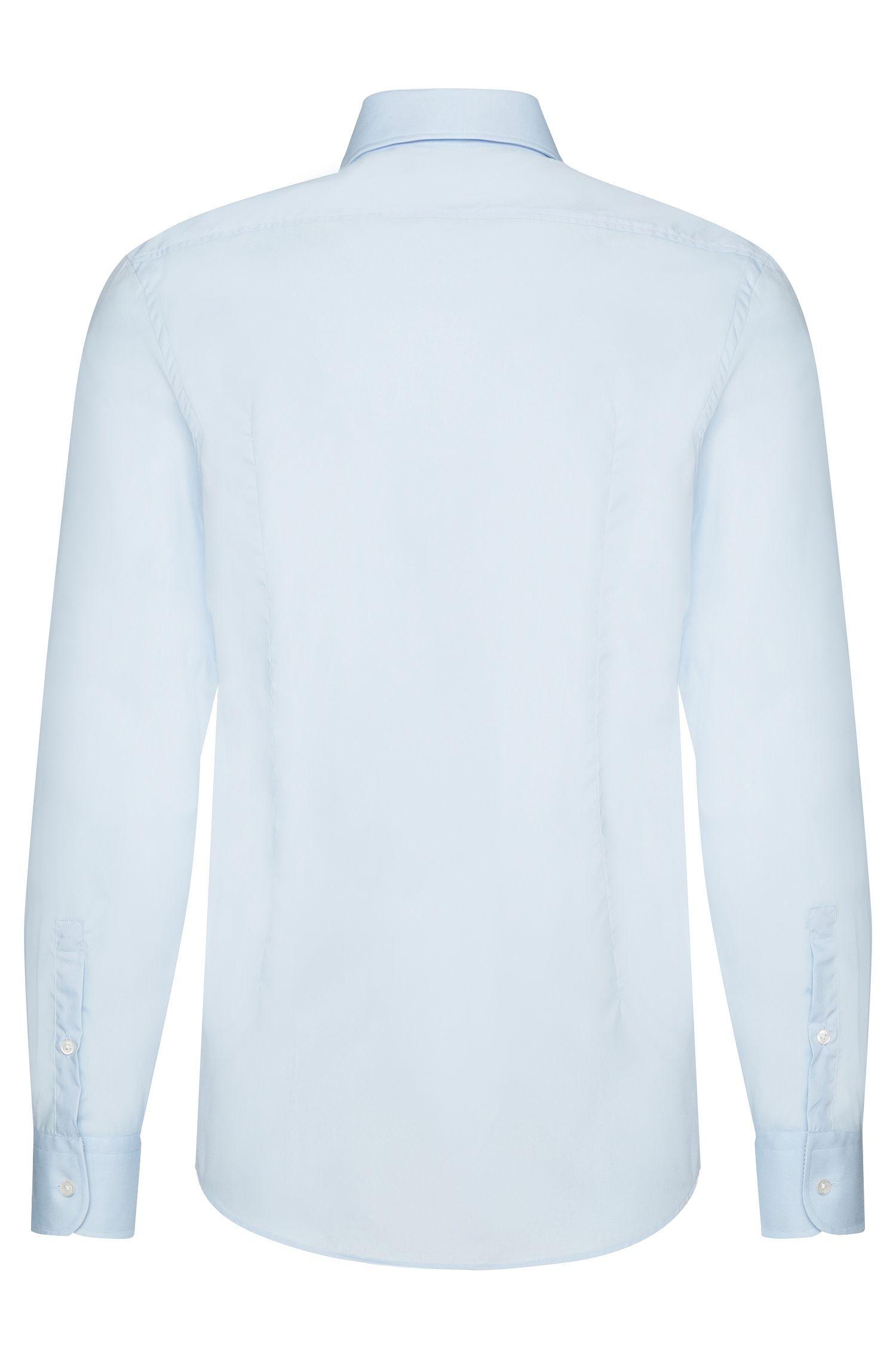Chemise Slim Fit en coton facile à repasser: «Jery»