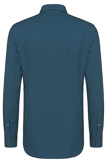 Slim-Fit Hemd aus Baumwolle: 'Jenno', Türkis