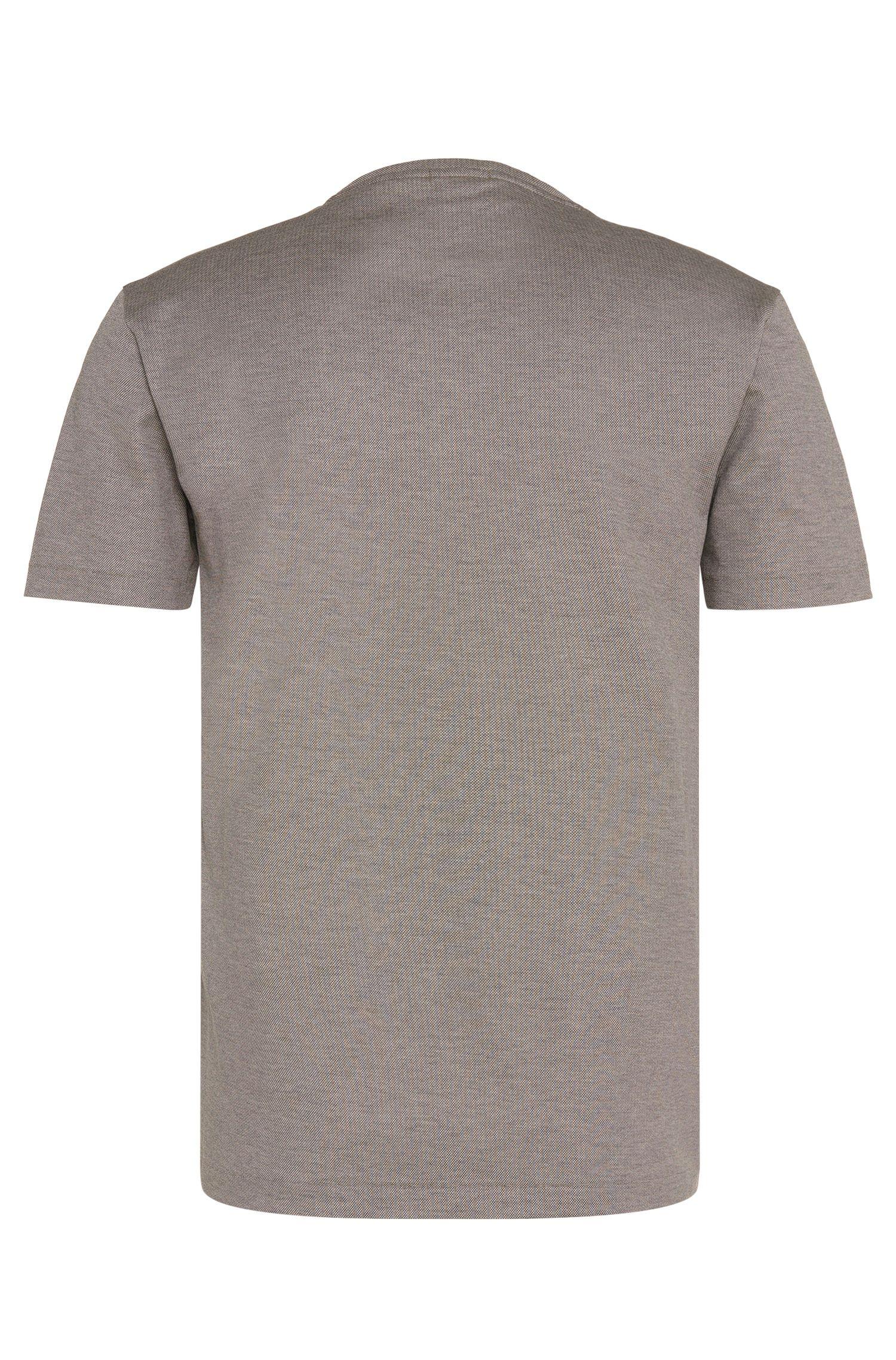 Regular-Fit T-Shirt aus Baumwolle mit geometrischem Motiv: 'Tiburt 11'