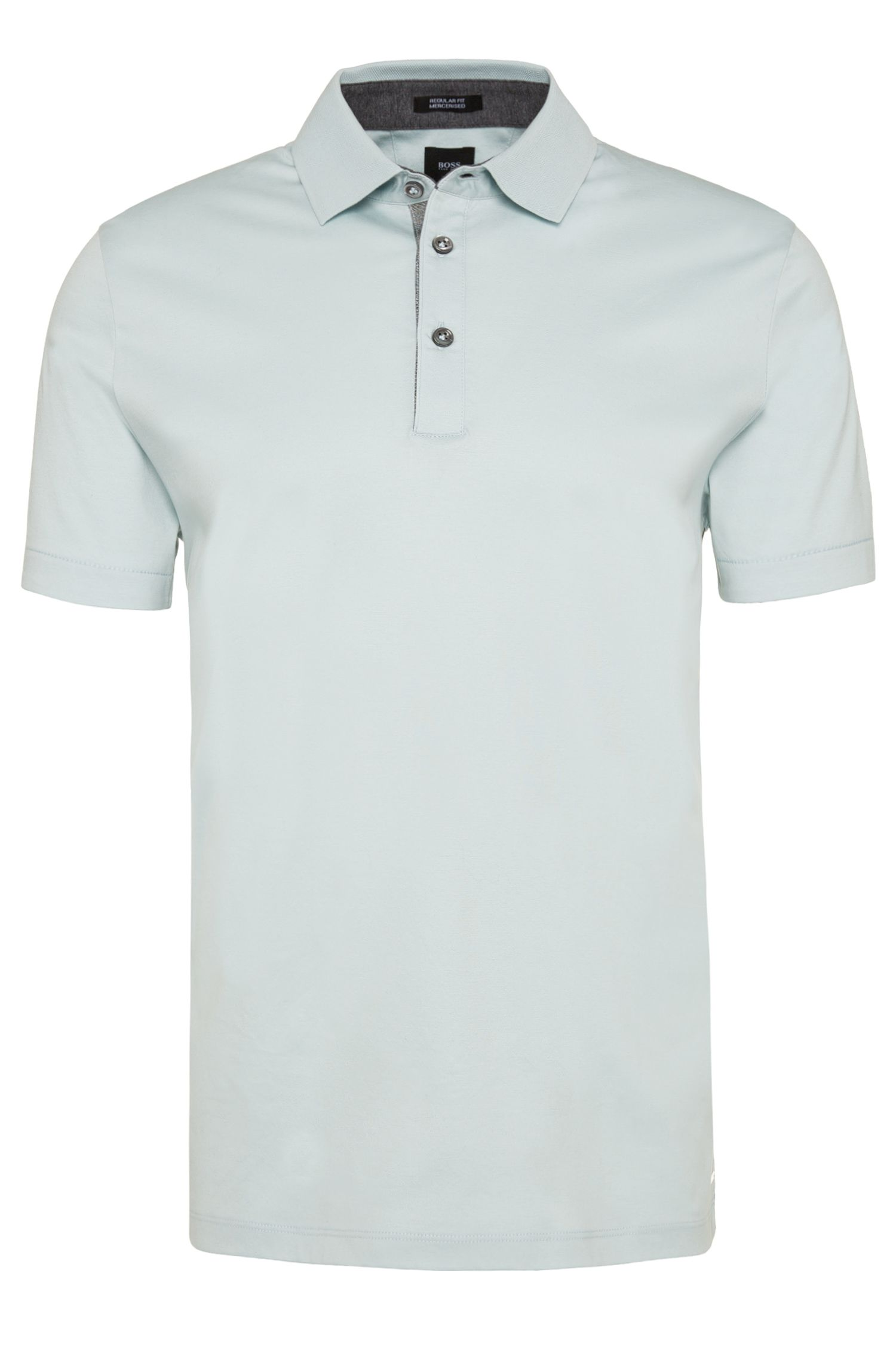 Polo Regular Fit en coton mercerisé : « T-Perry 05 »
