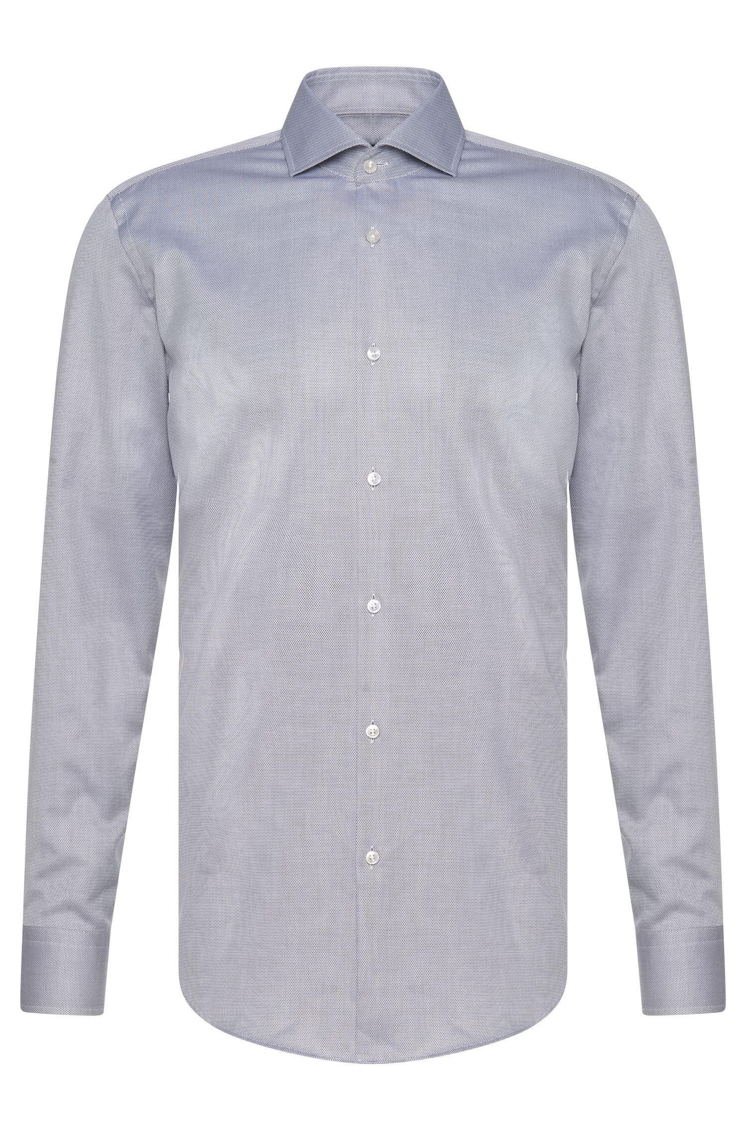 Chemise Slim Fit en coton : « Jason »