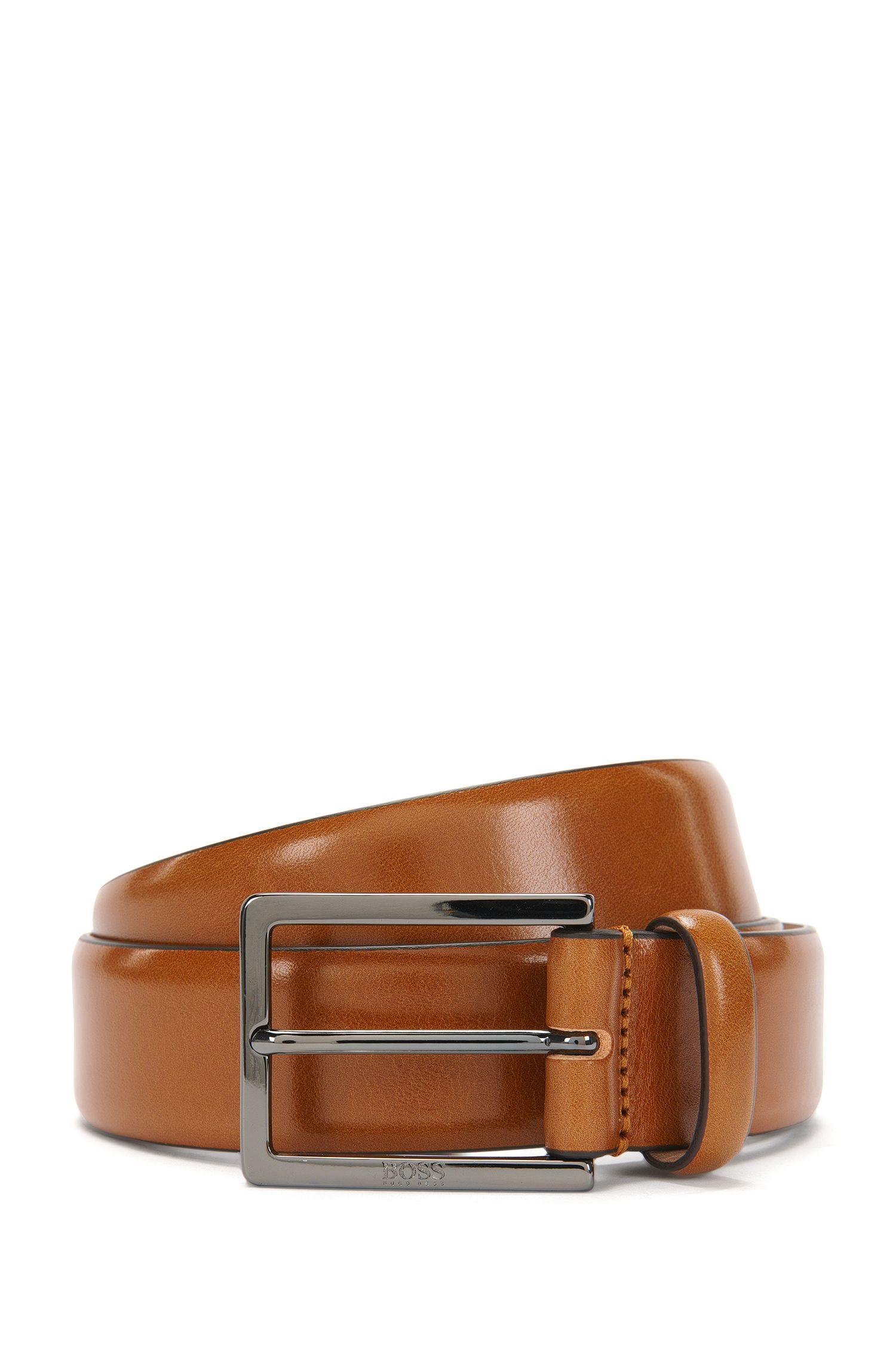Cinturón Tailored fabricado a mano en piel: 'T-Luven_Sz35_ltpl'