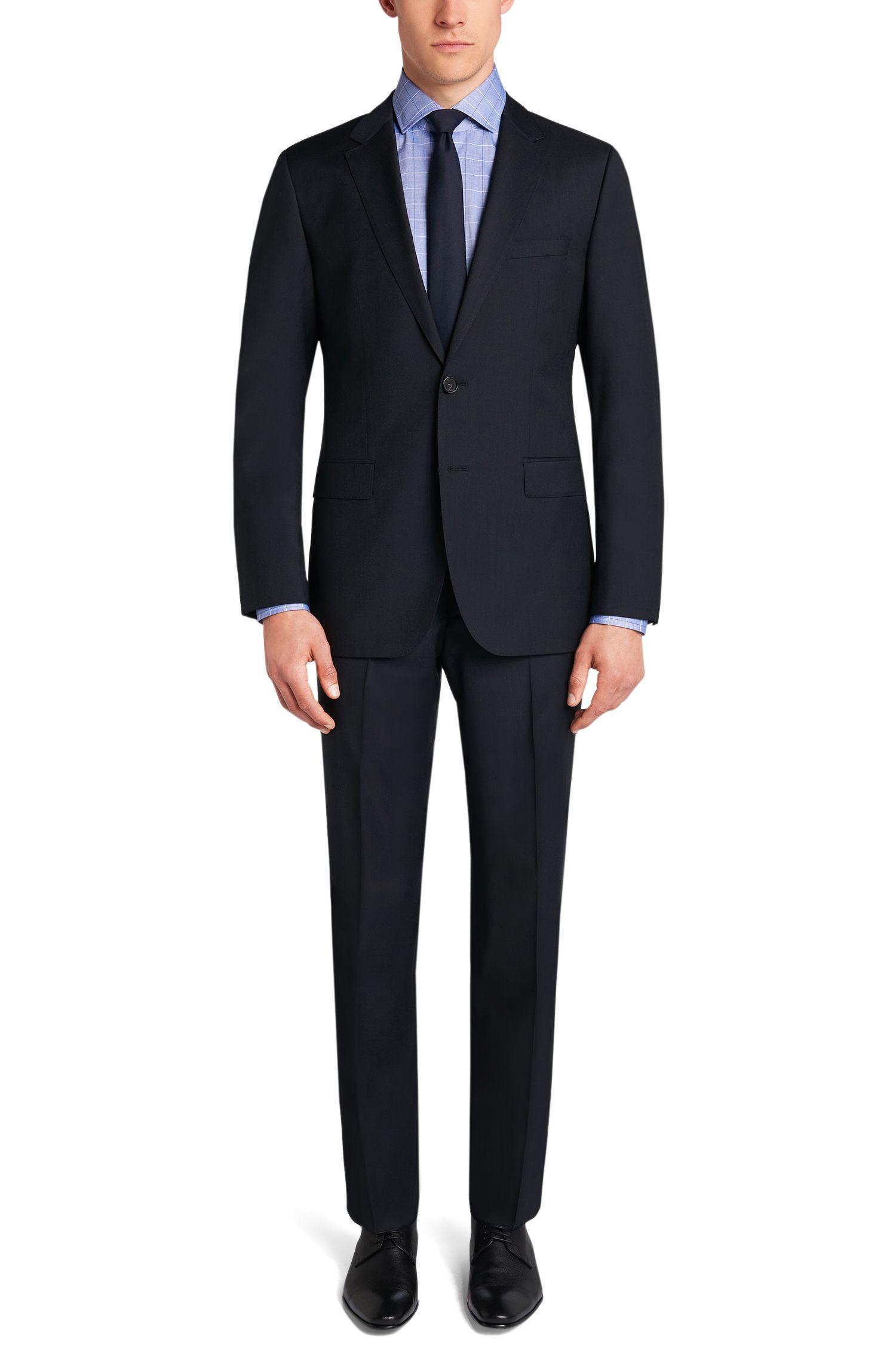 Chemise en coton Regular Fit à grand motif à carreaux: «Gordon»