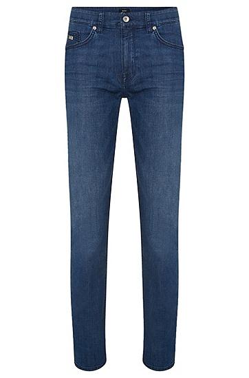 Regular-Fit Jeans aus Stretch-Baumwolle: 'Maine3', Blau