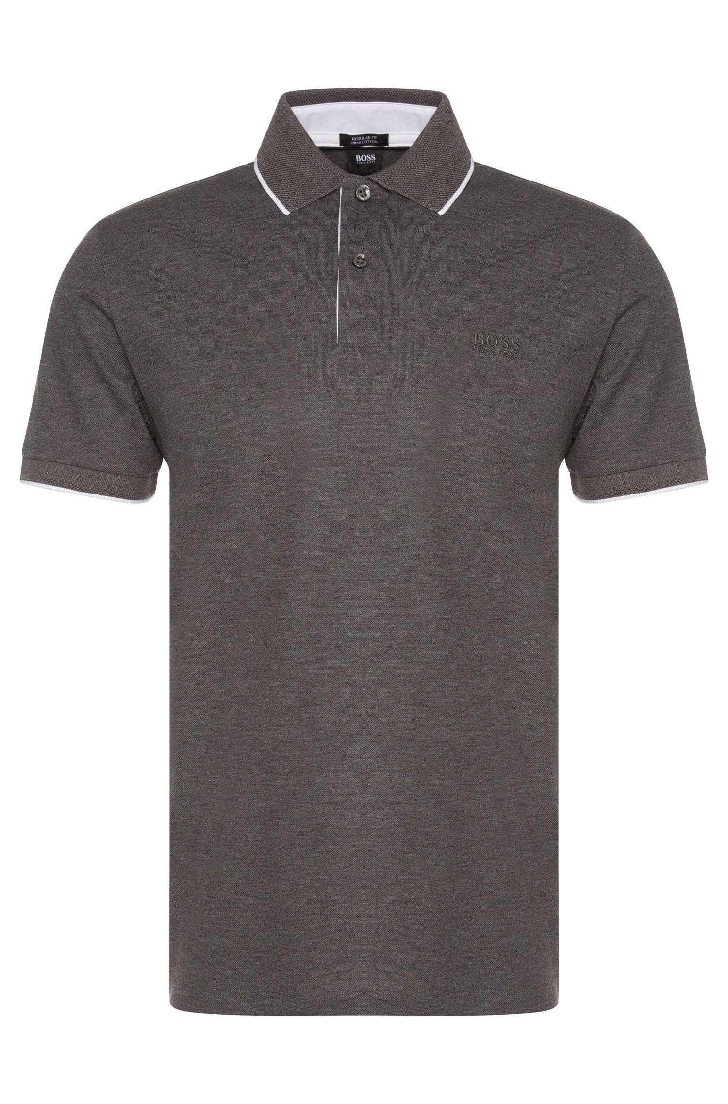 Regular-Fit Poloshirt aus Baumwolle: 'Parlay 03'