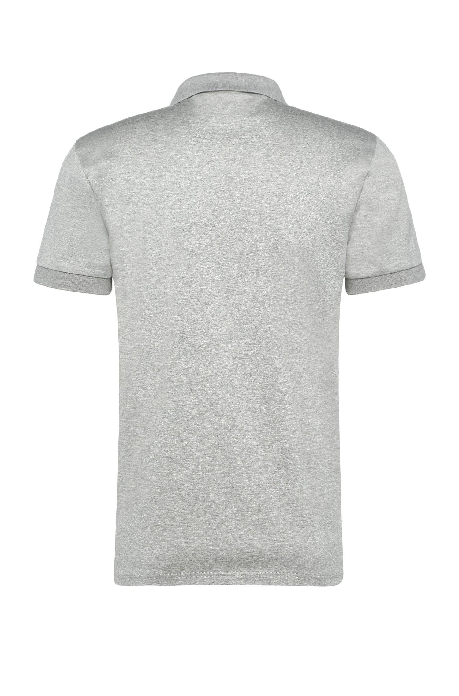 Bedrucktes Slim-Fit Polo aus Baumwolle: ´Paule 6`