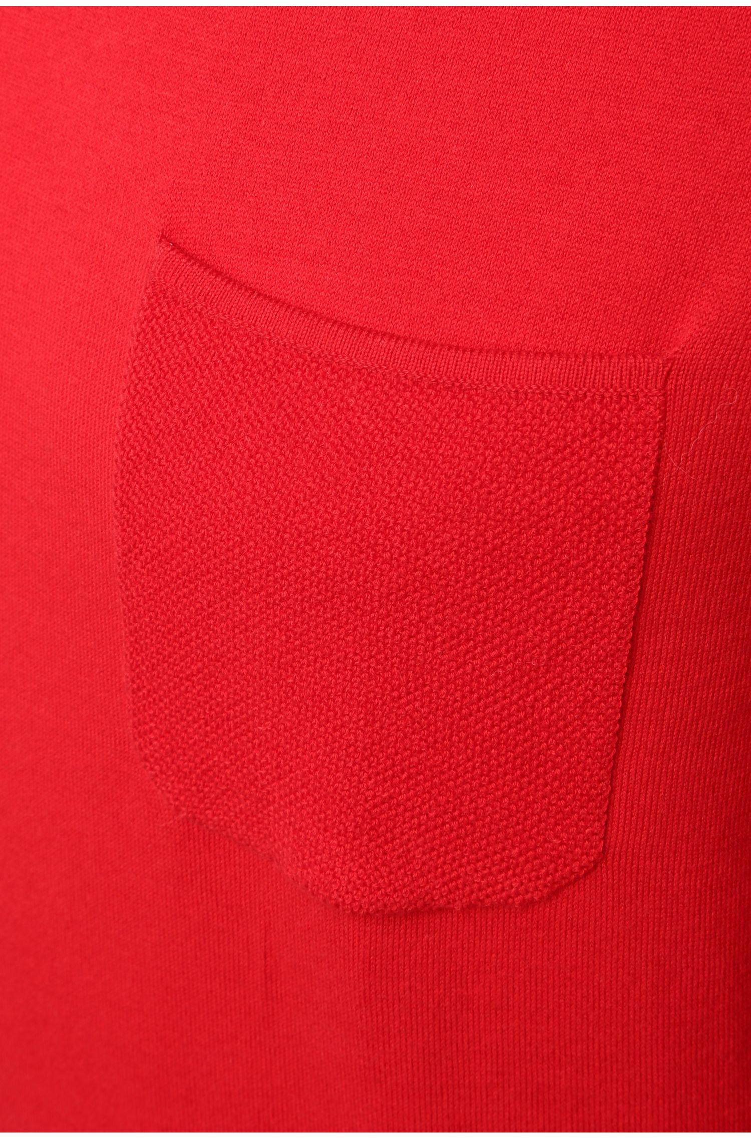 Slim-Fit Pullover aus Baumwoll-Mix mit Elasthan-Anteil: ´Reight`