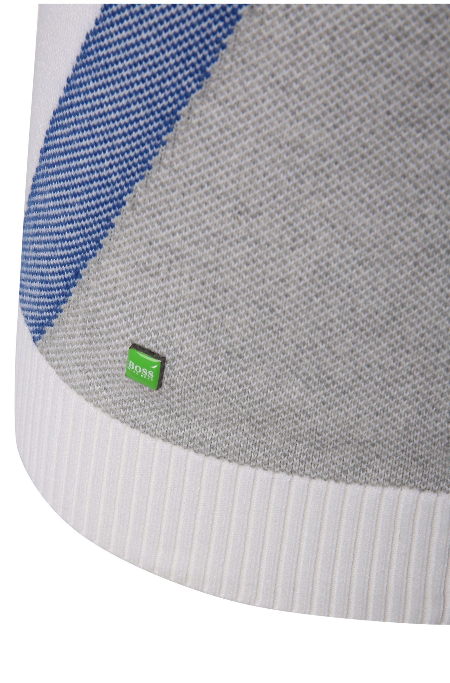 Pull en maille Slim Fit en coton mélangé fonctionnel: «Zelchior_Pro_W16»