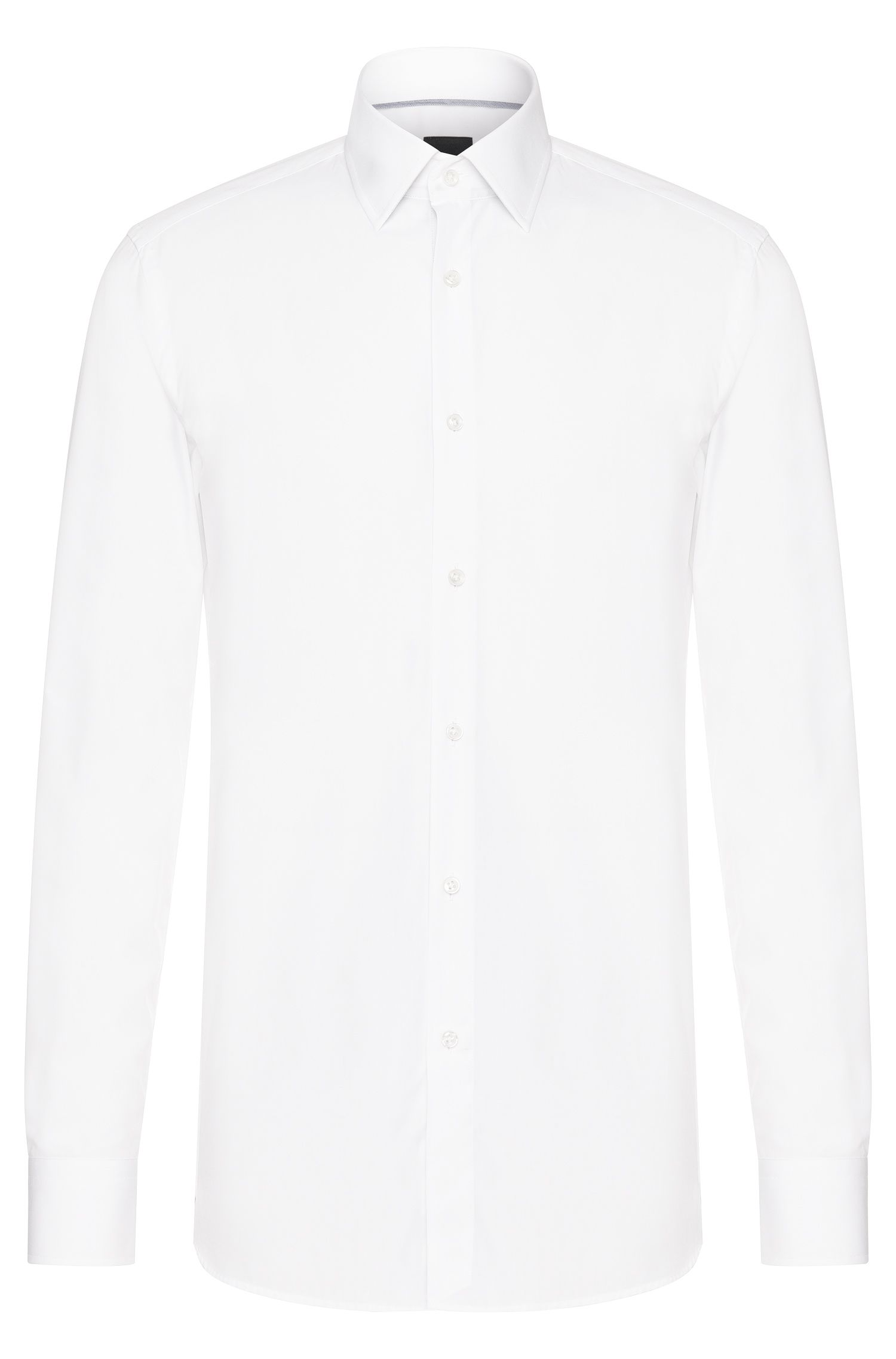 Chemise Slim Fit Tailored en coton : « T-Scott »