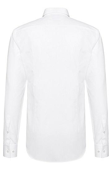 Slim-Fit Hemd aus Baumwolle: 'Jamis', Weiß