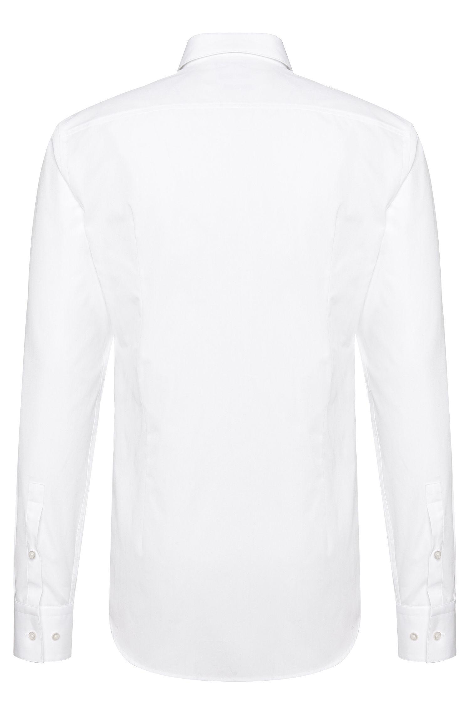 Slim-fit overhemd van katoen: 'Jamis'