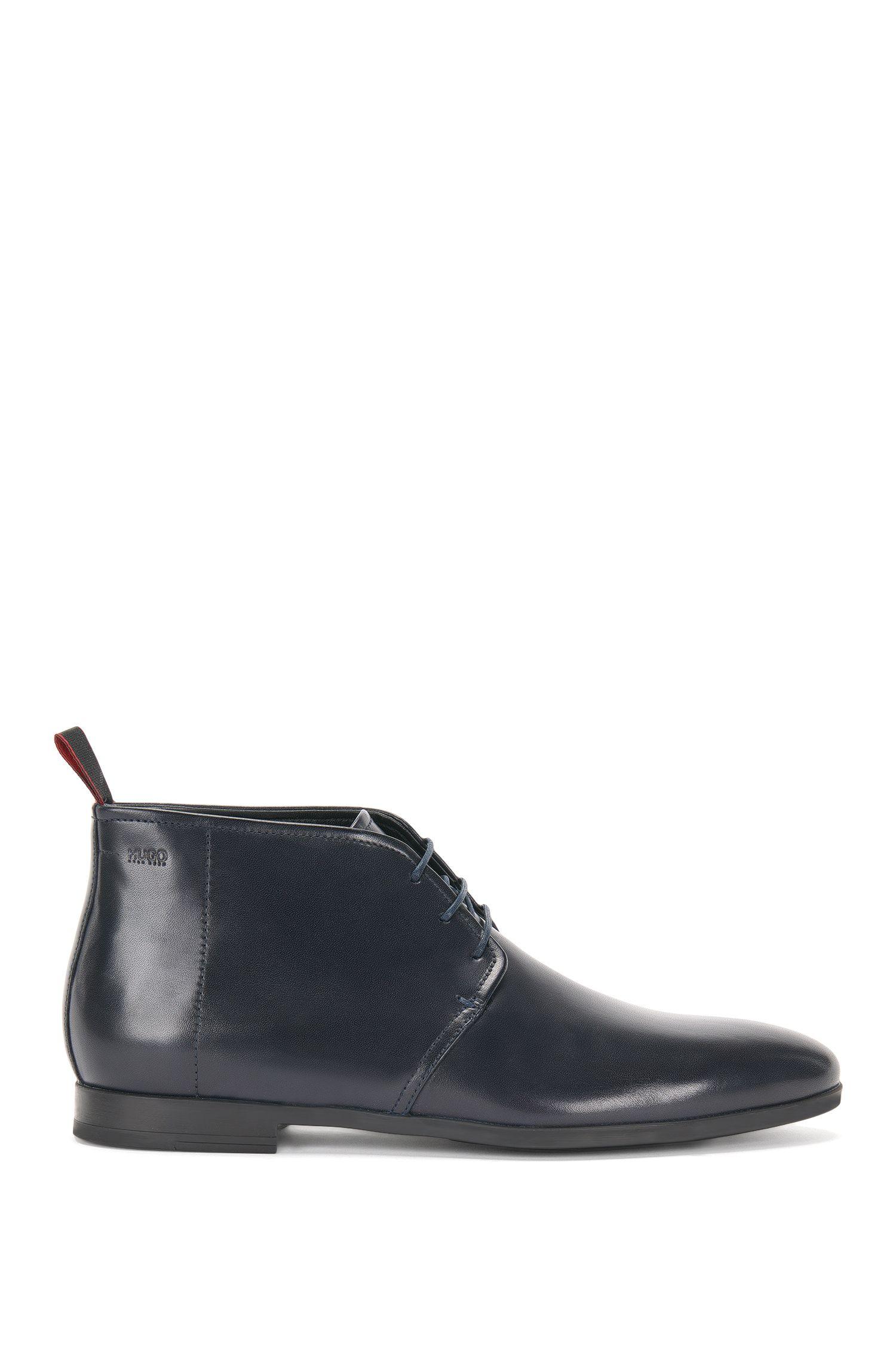 Chaussures à lacets hauteur cheville, en cuir: «Pariss_Desb_3lt»